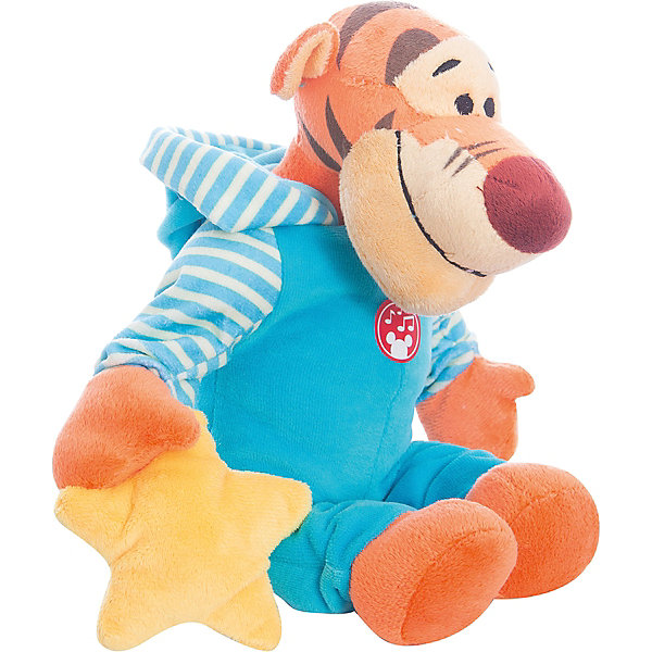 Мягкая игрушка Сонный Тигруля, Disney, 24 смМягкие игрушки из мультфильмов<br>Милый тигренок обязательно понравится всем малышам. С любимым героем приятно не только играть днем, но и засыпать вечером. Игрушка выполнена из высококачественных гипоаллергенных материалов, безопасных для детей. Мягкий Тигруля подарит вашему крохе много приятных и сладких снов!<br><br>Дополнительная информация:<br><br>- Материал: плюш, текстиль, полиэфирное волокно.<br>- Размер: 24 см.<br><br>Мягкую игрушку Сонный Тигруля Disney (Дисней), можно купить в нашем магазине.<br>Ширина мм: 200; Глубина мм: 210; Высота мм: 240; Вес г: 160; Возраст от месяцев: 36; Возраст до месяцев: 72; Пол: Унисекс; Возраст: Детский; SKU: 4219374;