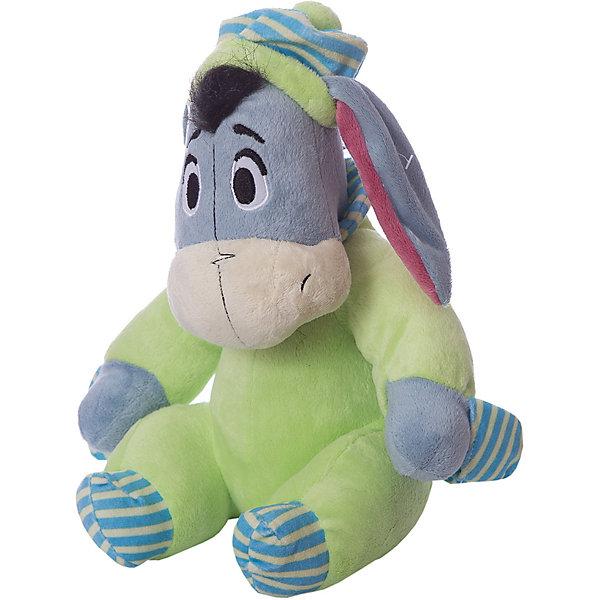 Мягкая игрушка Сонный Ушастик, Disney, 23 смМягкие игрушки из мультфильмов<br>Милый ослик обязательно понравится всем малышам. С любимым героем приятно не только играть днем, но и засыпать вечером. Игрушка выполнена из высококачественных гипоаллергенных материалов, безопасных для детей. Мягкий Ушастик подарит вашему крохе много приятных и сладких снов!<br><br>Дополнительная информация:<br><br>- Материал: плюш, текстиль, полиэфирное волокно.<br>- Размер: 24 см.<br><br>Мягкую игрушку Сонный Ушастик Disney (Дисней), можно купить в нашем магазине.<br>Ширина мм: 170; Глубина мм: 190; Высота мм: 230; Вес г: 260; Возраст от месяцев: 36; Возраст до месяцев: 72; Пол: Унисекс; Возраст: Детский; SKU: 4219375;