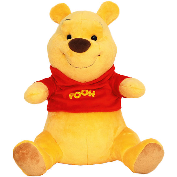 Музыкальная игрушка Винни-сказочник, Disney, 30 смМузыкальные мягкие игрушки<br>Очаровательный плюшевый медвежонок Винни приведет в восторг всех малышей. Любимый герой не только милый и очень приятный на ощупь, он расскажет крохе много сказок и увлекательных историй, стоит только нажать на лапку или животик мишки. Игрушка выполнена из высококачественных экологичный материалов. <br><br>Дополнительная информация:<br><br>- Материал: плюш, текстиль, полиэфирное волокно.<br>- Размер: 31х22х19  см.<br>- 5 сказок.<br>- Регулировка громкости.<br>- Функция паузы.<br>- Элемент питания: 3 АА батарейки (в комплекте).<br><br>Музыкальную игрушку Винни-сказочник, Disney (Дисней), можно купить в нашем магазине.<br><br>Ширина мм: 190<br>Глубина мм: 220<br>Высота мм: 310<br>Вес г: 830<br>Возраст от месяцев: 36<br>Возраст до месяцев: 72<br>Пол: Унисекс<br>Возраст: Детский<br>SKU: 4219376