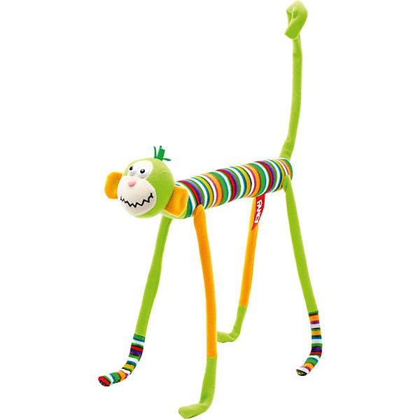 Мягкая игрушка Слим-обезьянка, Fancy, 20 смМягкие игрушки животные<br>Милая яркая обезьянка станет прекрасным подарком и обязательно поднимет настроение! Внутри игрушки находится прочный проволочный каркас, благодаря этому, она может принимать различные смешные позы. Обезьянка выполнена из высококачественных гипоаллергенных материалов, безопасных для детей. <br><br>Дополнительная информация:<br><br>- Материал: плюш, пластик, полиэфирное волокно.<br>- Размер: 31х19х4,5 см.<br>- Лапы, туловище гнутся. <br>- Цвет: желтый, зеленый.<br><br>Мягкую игрушку Слим-обезьянка Fancy, можно купить в нашем магазине.<br><br>Ширина мм: 220<br>Глубина мм: 45<br>Высота мм: 200<br>Вес г: 67<br>Возраст от месяцев: 36<br>Возраст до месяцев: 72<br>Пол: Унисекс<br>Возраст: Детский<br>SKU: 4219382