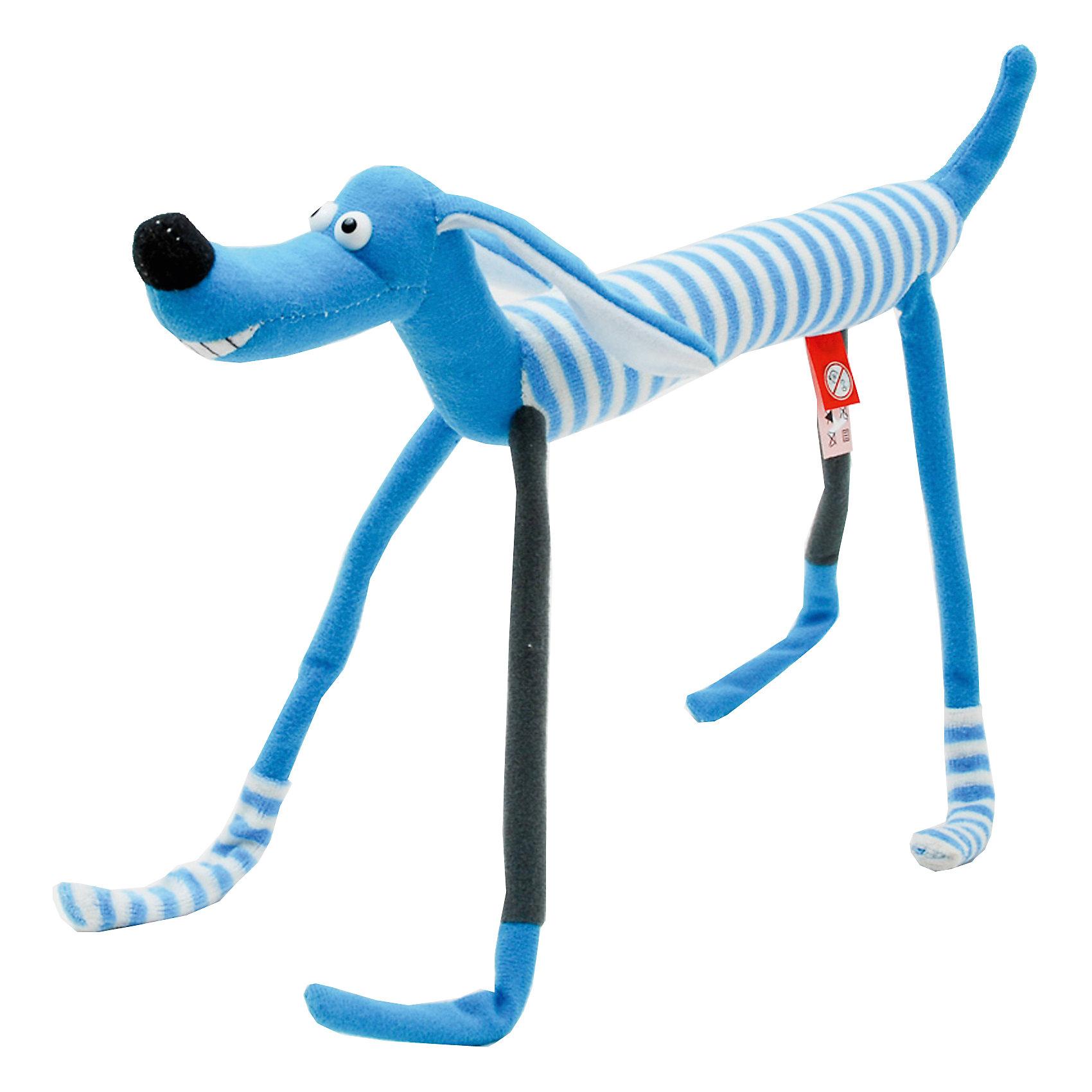 Мягкая игрушка Слим-собачка, Fancy, 20 смКошки и собаки<br>Милая яркая собачка станет прекрасным подарком и обязательно поднимет настроение! Внутри игрушки находится прочный проволочный каркас, благодаря этому, она может принимать различные смешные позы. Собачка выполнена из высококачественных гипоаллергенных материалов, безопасных для детей. <br><br>Дополнительная информация:<br><br>- Материал: плюш, пластик, полиэфирное волокно.<br>- Размер: 31х19х4,5 см.<br>- Лапы, туловище гнутся. <br>- Цвет: голубой, белый.<br><br>Мягкую игрушку Слим-собачка Fancy, можно купить в нашем магазине.<br><br>Ширина мм: 310<br>Глубина мм: 45<br>Высота мм: 200<br>Вес г: 72<br>Возраст от месяцев: 36<br>Возраст до месяцев: 72<br>Пол: Унисекс<br>Возраст: Детский<br>SKU: 4219383