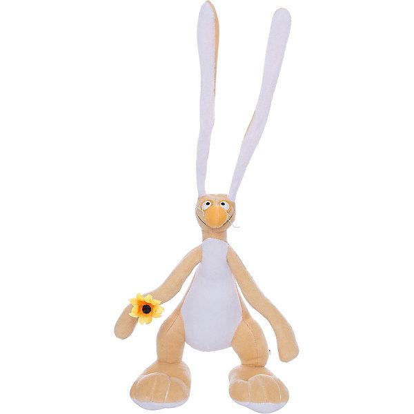 Мягкая игрушка Заяц Федя, Fancy, 27 смМягкие игрушки животные<br>Очаровательный смешной заяц Федя приведет в восторг и детей и взрослых. Внутри игрушки находится прочный проволочный каркас, благодаря этому, Федя может принимать различные смешные позы. Заяц выполнен из мягкого плюша, очень приятен на ощупь, изготовлен из экологичных высококачественных материалов. <br><br>Дополнительная информация:<br><br>- Материал: плюш, пластик, полиэфирное волокно.<br>- Высота: 27 см.<br><br>Мягкую игрушку Заяц Федя, Fancy, можно купить в нашем магазине.<br>Ширина мм: 120; Глубина мм: 200; Высота мм: 270; Вес г: 160; Возраст от месяцев: 36; Возраст до месяцев: 72; Пол: Унисекс; Возраст: Детский; SKU: 4219384;