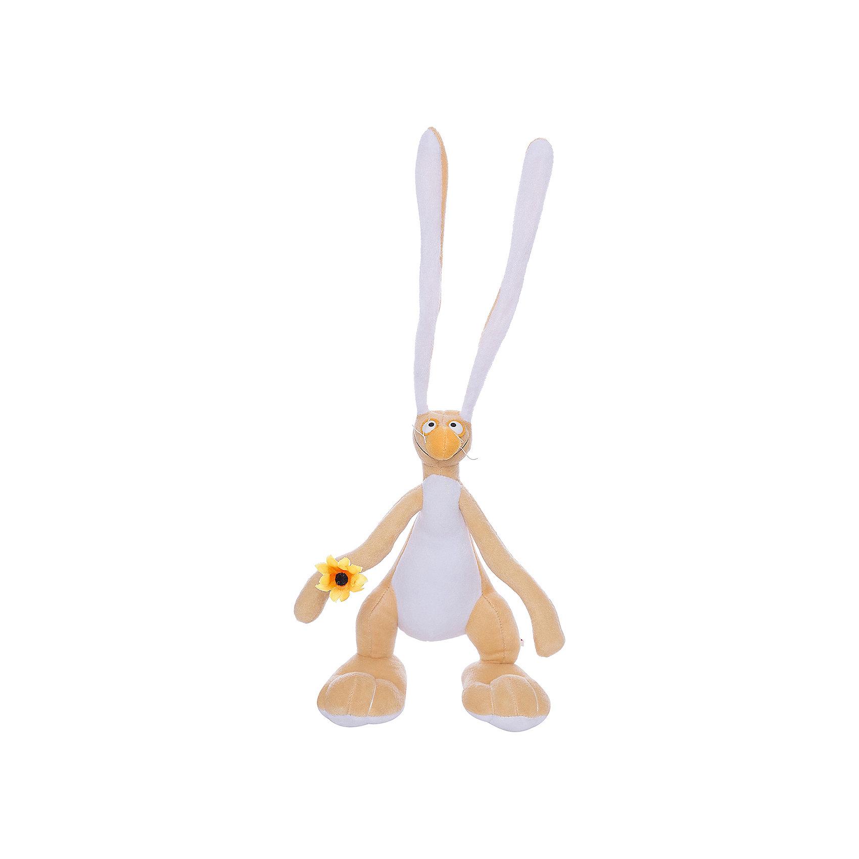 Мягкая игрушка Заяц Федя, Fancy, 27 смЗайцы и кролики<br>Очаровательный смешной заяц Федя приведет в восторг и детей и взрослых. Внутри игрушки находится прочный проволочный каркас, благодаря этому, Федя может принимать различные смешные позы. Заяц выполнен из мягкого плюша, очень приятен на ощупь, изготовлен из экологичных высококачественных материалов. <br><br>Дополнительная информация:<br><br>- Материал: плюш, пластик, полиэфирное волокно.<br>- Высота: 27 см.<br><br>Мягкую игрушку Заяц Федя, Fancy, можно купить в нашем магазине.<br><br>Ширина мм: 120<br>Глубина мм: 200<br>Высота мм: 270<br>Вес г: 160<br>Возраст от месяцев: 36<br>Возраст до месяцев: 72<br>Пол: Унисекс<br>Возраст: Детский<br>SKU: 4219384