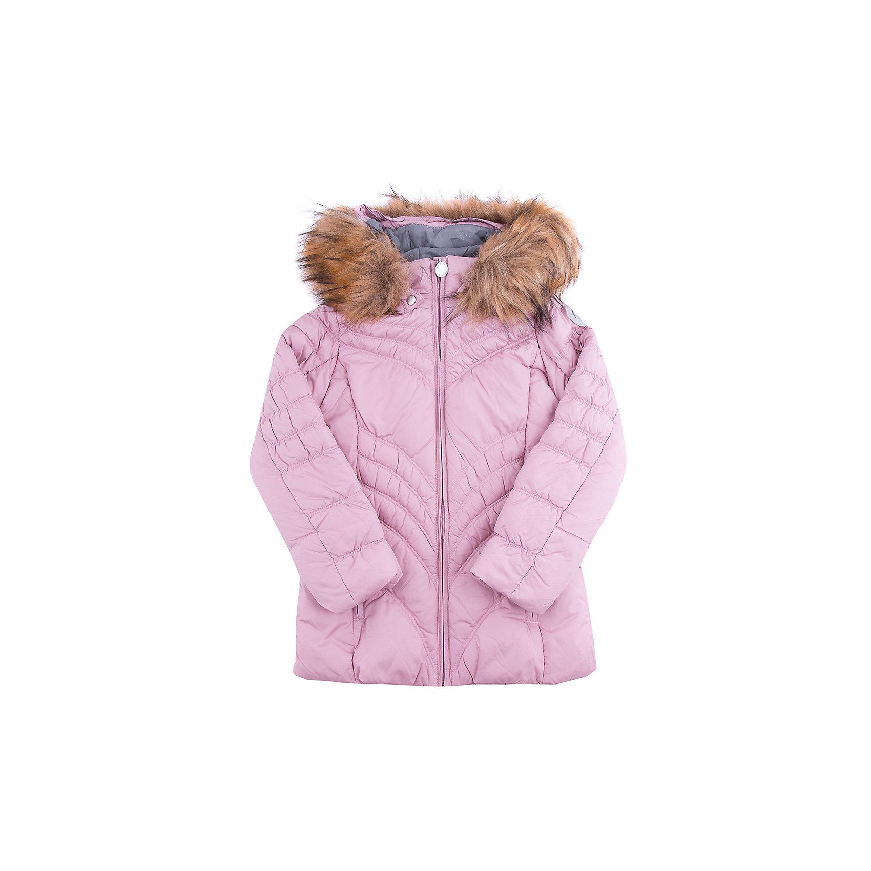 Куртка для девочки LUHTAКуртка для девочки LUHTA. <br><br>Состав: 100% полиэстер <br><br>Куртка с отстегивающимся капюшоном<br>Искусственный мех<br>Элегантный силуэт<br>Декоративная прострочка<br>Боковые карманы на молнии<br>Водоотталкивающее покрытие, <br>Утепление 280 гр., утеплитель 50% пух/перо, 50% искусственный утеплитель<br>Рекомендуемый температурный режим до -30 °.<br><br>Термометр, показывающий температуру внутри верхней одежды. <br><br>Технологии: <br>LUHTA WATER REPELLENT<br>Водоотталкивающая пропитка - долговременная, специально обработанная водоотталкивающими средствами ткань.<br>LUHTA SAFETY<br>Правила безопасности - изделия бренда LUHTA произведены в полном соответствии с требованиями безопасности для детей: отстегивающийся капюшон, безопасная утягивающаяся тесьма в кармашках, светоотражатели.<br> LUHTA TEMPERATURE CONTROL<br>Система термоконтроля - позволяет проверить температуру тела вашего ребенка по встроенному в одежду термометру. Этот термометр показывает температуру внутри куртки - от 22 до 32 - зона комфорта. Информация носит рекоментательный характер. <br>LUHTA DOWN MIX<br>DownMix - идеальное сочетанием пуха (50%) и утеплителя (50%). Инновационный утеплитель DownMix представляет собой уникальный баланс этих двух материалов, позволяя сохранить тепло и обеспечить максимальный комфорт.<br>LUHTA -30<br>Температурный режим -30 °. Носит рекомендательный характер. Ощущение тепла и холода носят субъективный характер и зависят от индивидуальных особенностей ребенка.<br>Reflectors<br>Эффективные светоотражатели позволят чувствовать себя в безопасности в любых погодных условиях, особенно в темное время суток.<br><br>Ширина мм: 356<br>Глубина мм: 10<br>Высота мм: 245<br>Вес г: 519<br>Цвет: розовый<br>Возраст от месяцев: 120<br>Возраст до месяцев: 132<br>Пол: Женский<br>Возраст: Детский<br>Размер: 146,158,152,134,164,140<br>SKU: 4219940