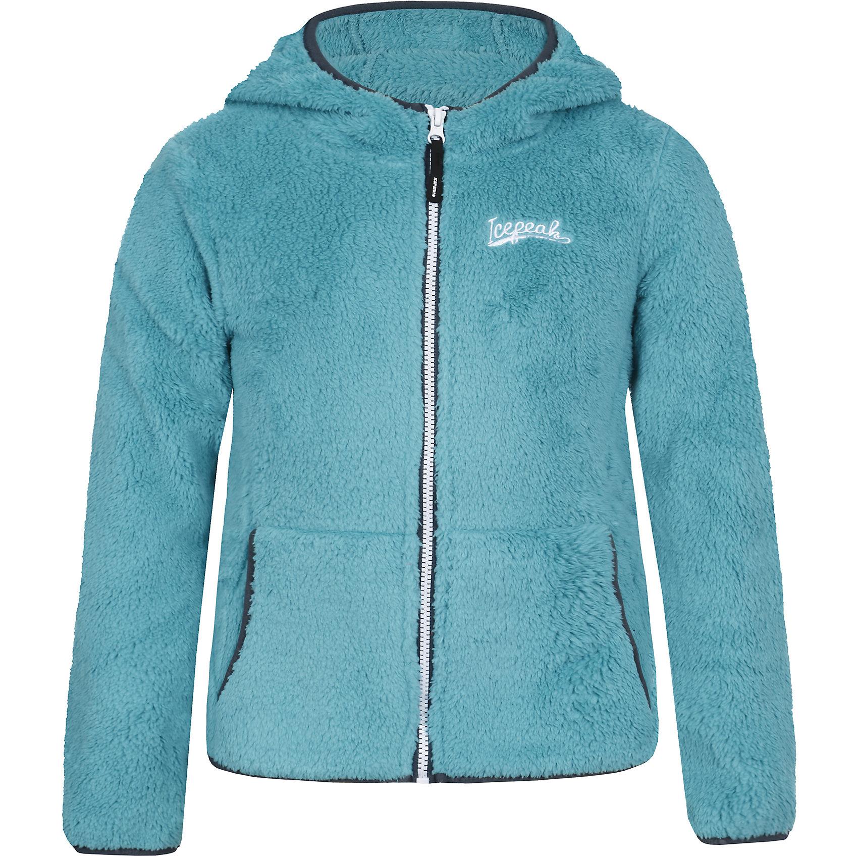 Толстовка для девочки ICEPEAKТолстовка для девочки ICEPEAK. <br><br>Состав: 100% полиэстер <br><br>Толстовка с капюшоном на молнии, трикотаж, эластичная резинка на рукаве и в нижней части куртки, карманыкенгуру на молнии, плотность 280 гр./кв.м. <br><br>Технологии: <br>Thermal<br>Теплоизоляционный материал дышащий и греющий, поэтому прекрасно подходит для принципа многослойности в одежде. Материал легкий и быстро сохнет.<br><br>Ширина мм: 218<br>Глубина мм: 10<br>Высота мм: 190<br>Вес г: 284<br>Цвет: зеленый<br>Возраст от месяцев: 108<br>Возраст до месяцев: 120<br>Пол: Женский<br>Возраст: Детский<br>Размер: 140,116,152,164,176,128<br>SKU: 4220815