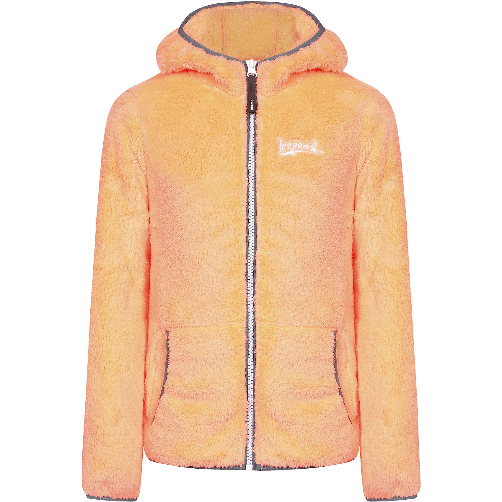 Толстовка для девочки ICEPEAKТолстовка для девочки ICEPEAK. <br><br>Состав: 100% полиэстер <br><br>Толстовка с капюшоном на молнии, трикотаж, эластичная резинка на рукаве и в нижней части куртки, карманыкенгуру на молнии, плотность 280 гр./кв.м. <br><br>Технологии: <br>Thermal<br>Теплоизоляционный материал дышащий и греющий, поэтому прекрасно подходит для принципа многослойности в одежде. Материал легкий и быстро сохнет.<br><br>Ширина мм: 218<br>Глубина мм: 10<br>Высота мм: 190<br>Вес г: 284<br>Цвет: бежевый<br>Возраст от месяцев: 108<br>Возраст до месяцев: 120<br>Пол: Женский<br>Возраст: Детский<br>Размер: 140,176,128,116,152,164<br>SKU: 4220829