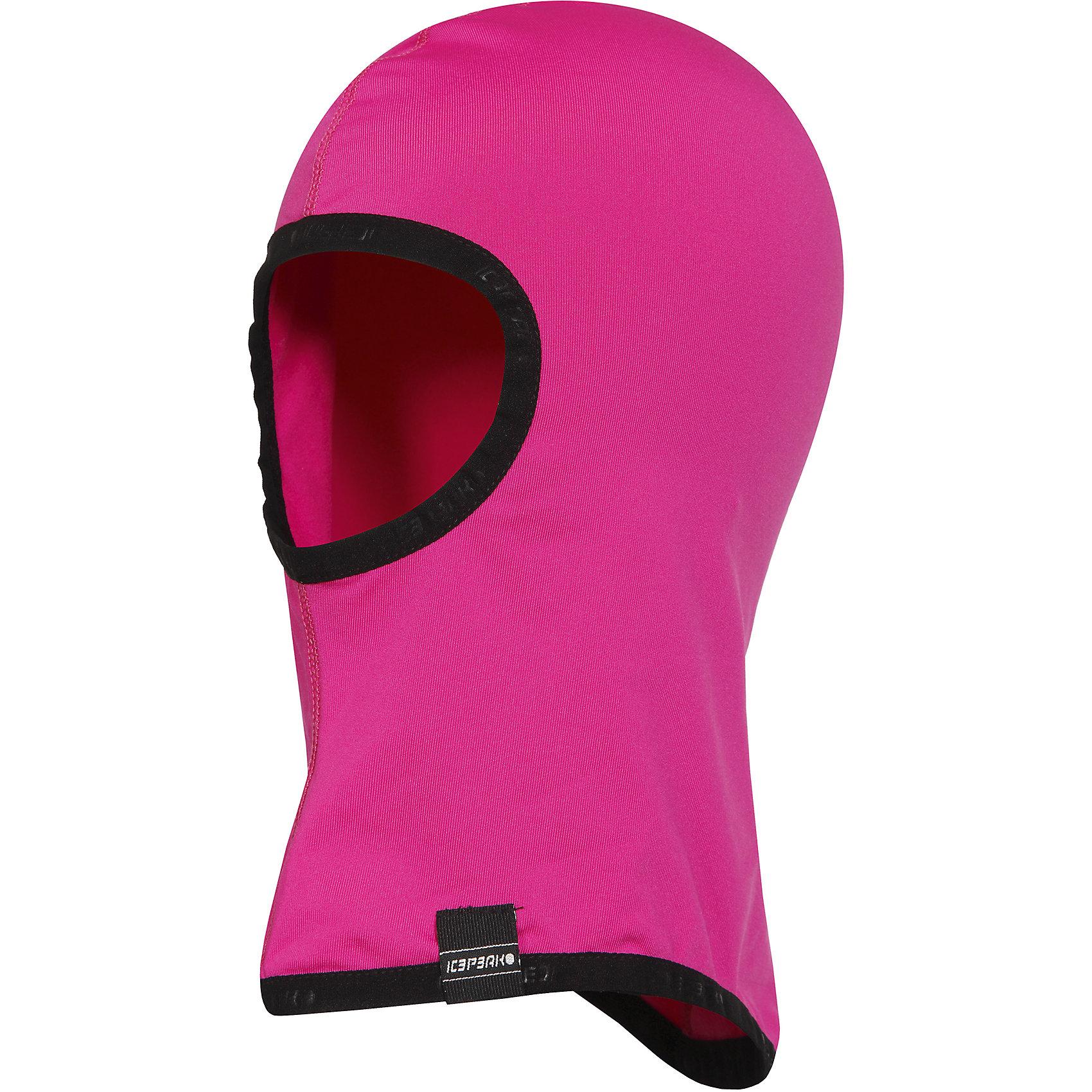Шапка-шлем для девочки ICEPEAKШапки и шарфы<br>Шлем для девочка ICEPEAK. <br><br>Состав: 90% полиэстер 10% эластан <br><br>Шапка -шлем из микрофибры, трикотаж <br><br>Технологии: <br>CoolTech<br>Технология Cooltech обеспечивает высокую влаговыводимость и оставляет тело сухим даже во время интенсивных занятий спортом. Материал не впитывает влагу, а выводит ее, позволяя коже дышать. Идеально подходит для активных занятий спортом. В качестве основных преимуществ -  износостойкость и быстрое высыхание.<br><br>Ширина мм: 89<br>Глубина мм: 117<br>Высота мм: 44<br>Вес г: 155<br>Цвет: красный<br>Возраст от месяцев: 60<br>Возраст до месяцев: 72<br>Пол: Женский<br>Возраст: Детский<br>Размер: one size<br>SKU: 4221097