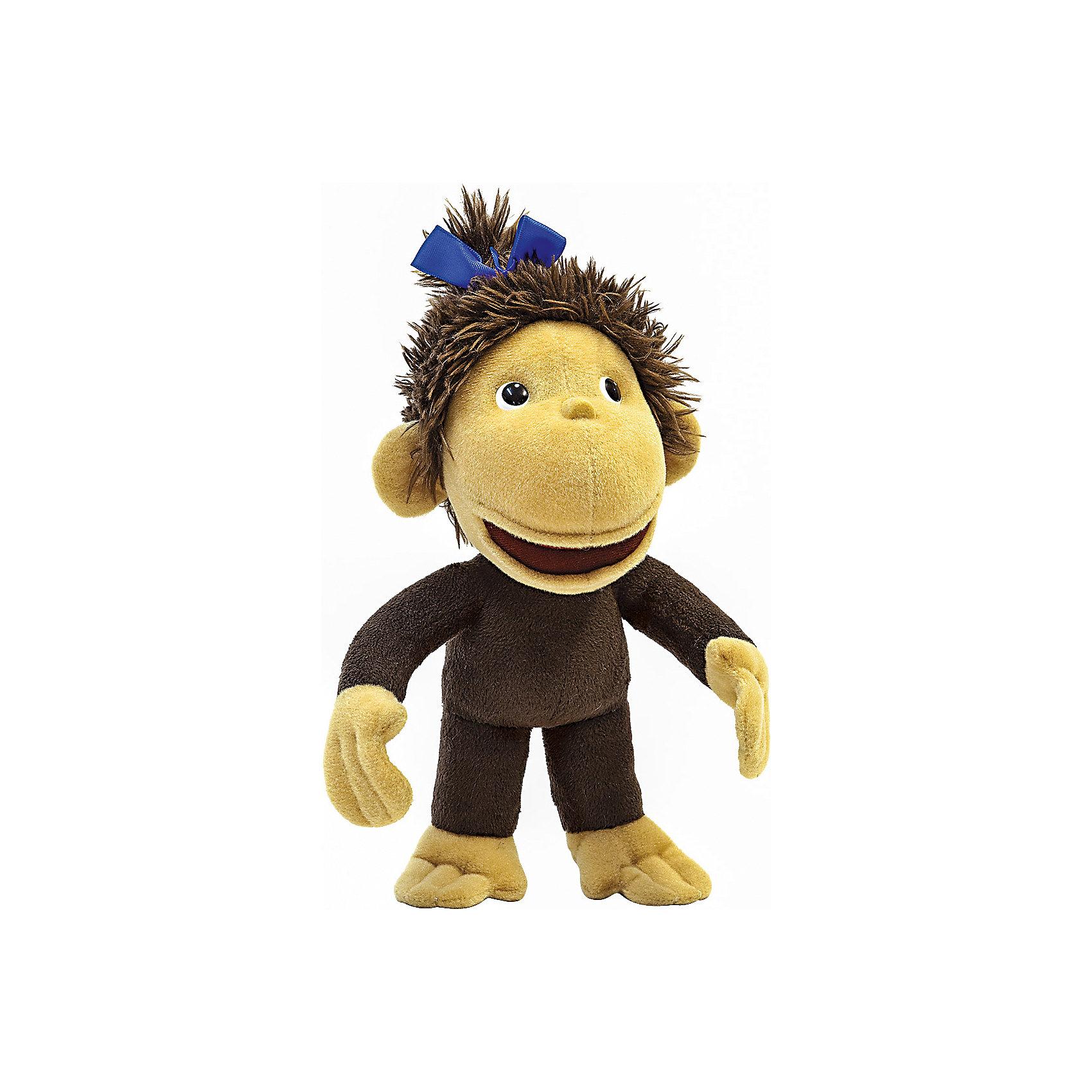 Мягкая игрушка Мартышка, 38 попугаев, 21 смОзорная мартышка из известного мультфильма обязательно понравится детям. Она споет малышам песенку или же просто развеселит разговорами. Игрушка выполнена из высококачественных гипоаллергенны материалов безопасных для детей. <br><br>Дополнительная информация:<br><br>- Материал: искусственный мех, текстиль, пластик, синтепон.<br>- Высота: 28 см.<br>- Звуковые эффекты: 1 песенка, 6 фраз. <br><br>Мягкую игрушку Мартышка, 38 попугаев, можно купить в нашем магазине.<br><br>Ширина мм: 90<br>Глубина мм: 100<br>Высота мм: 220<br>Вес г: 125<br>Возраст от месяцев: 36<br>Возраст до месяцев: 72<br>Пол: Унисекс<br>Возраст: Детский<br>SKU: 4221624
