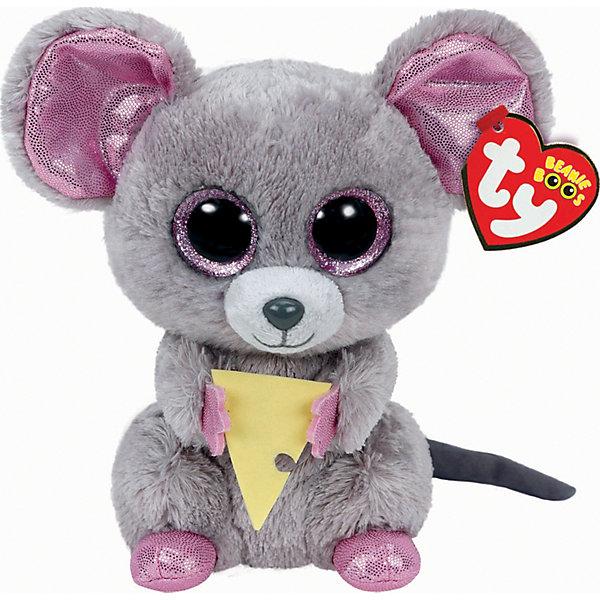Мягкая игрушка Мышонок Squeaker с кусочком сыра, 15 см, Beanie Boos, TyМягкие игрушки животные<br>Мягкая игрушка Мышонок Squeaker с кусочком сыра, 15 см, Beanie Boos, Ty (Тай)<br><br>Характеристики:<br><br>• игрушка мягкая и приятная на ощупь<br>• не содержит опасных для ребенка материалов<br>• высота игрушки: 15 см<br>• способствует развития тактильных навыков и мелкой моторики<br>• материал: текстиль, искусственный мех, пластик<br><br>Мышонок Squeaker очень милый и доброжелательный малыш. Блестящие вставки на ушках, глазках и лапках делают мышонка еще привлекательнее для детей. В руках у Squeaker маленький кусочек сыра, которым он с радостью полакомится. Игра с мягкими игрушками способствуют развитию мелкой моторики рук и тактильных навыков.<br><br>Мягкую игрушку Мышонок Squeaker с кусочком сыра, 15 см, Beanie Boos, Ty (Тай) вы можете купить в нашем интернет-магазине.<br>Ширина мм: 144; Глубина мм: 83; Высота мм: 88; Вес г: 84; Возраст от месяцев: 12; Возраст до месяцев: 60; Пол: Женский; Возраст: Детский; SKU: 4222213;