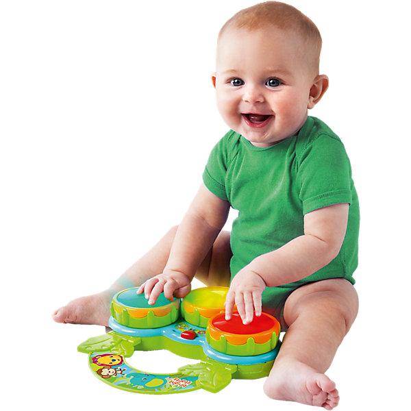 RU Музыкальная игрушка Bright Starts Барабаны СафариБарабаны<br><br>Ширина мм: 351; Глубина мм: 178; Высота мм: 205; Вес г: 582; Возраст от месяцев: 3; Возраст до месяцев: 36; Пол: Унисекс; Возраст: Детский; SKU: 4222546;