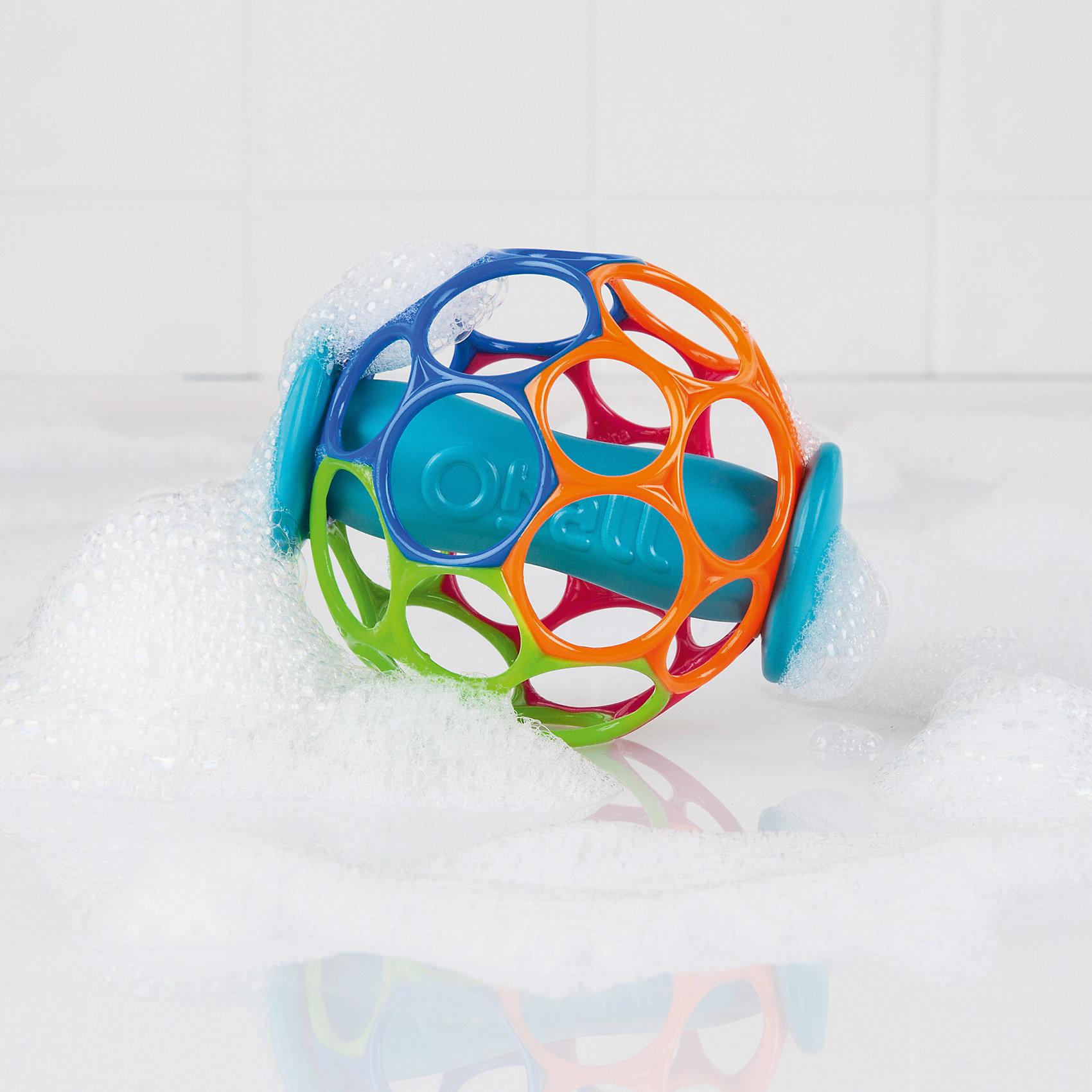 Мячик Oball, с поплавком, OballИгрушки для ванной<br>Теперь с ним можно не только играть, но и купаться!<br><br>ОСОБЕННОСТИ<br>Благодаря поплавку, мячик Oball держится на воде <br>Удобно держать маленькими ручками<br>Мягкий гибкий пластик приятен на ощупь, не поранит ребенка<br><br><br>Дополнительные характеристики<br>Не содержит вредных веществ<br>Диаметр мячика: 10 см<br>Размер коробки: 14 х 10 х 10 см<br><br>Ширина мм: 137<br>Глубина мм: 129<br>Высота мм: 88<br>Вес г: 64<br>Возраст от месяцев: 0<br>Возраст до месяцев: 36<br>Пол: Унисекс<br>Возраст: Детский<br>SKU: 4222558