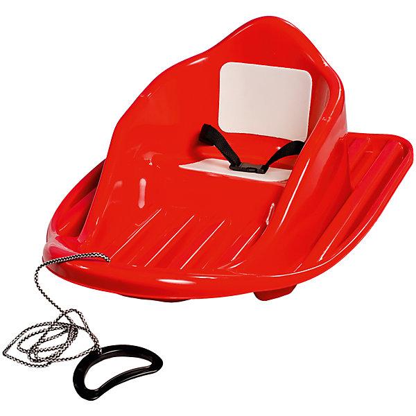 Санки МалышСанки и аксессуары<br>Санки Малыш сконструированы таким образом, чтобы дети получали наслаждение от катания по снегу в безопасных условиях.<br><br>Спинка имеет хорошую боковую поддержку. Санки оснащены ремнем безопасности, имеют буксировочный трос и удобную пластиковую ручку и мягкие накладки на сиденье. Широкое основание придает устойчивость и обеспечивает безопасность ребенка при катании. Санки изготовлены из прочного пластика, не имеют острых углов, безопасны для детей.<br><br>Дополнительная информация:<br><br>- Материал: пластик.<br>- Размер: 37х53х65 см. <br>- Вес 1,6 кг .<br>- Цвет: красный. <br>- Ремень безопасности.<br>- Трос.<br>- Мягкие накладки на сиденье.<br><br>Санки Малыш можно купить в нашем магазине.<br>Ширина мм: 700; Глубина мм: 530; Высота мм: 390; Вес г: 9000; Возраст от месяцев: 12; Возраст до месяцев: 60; Пол: Унисекс; Возраст: Детский; SKU: 4222716;