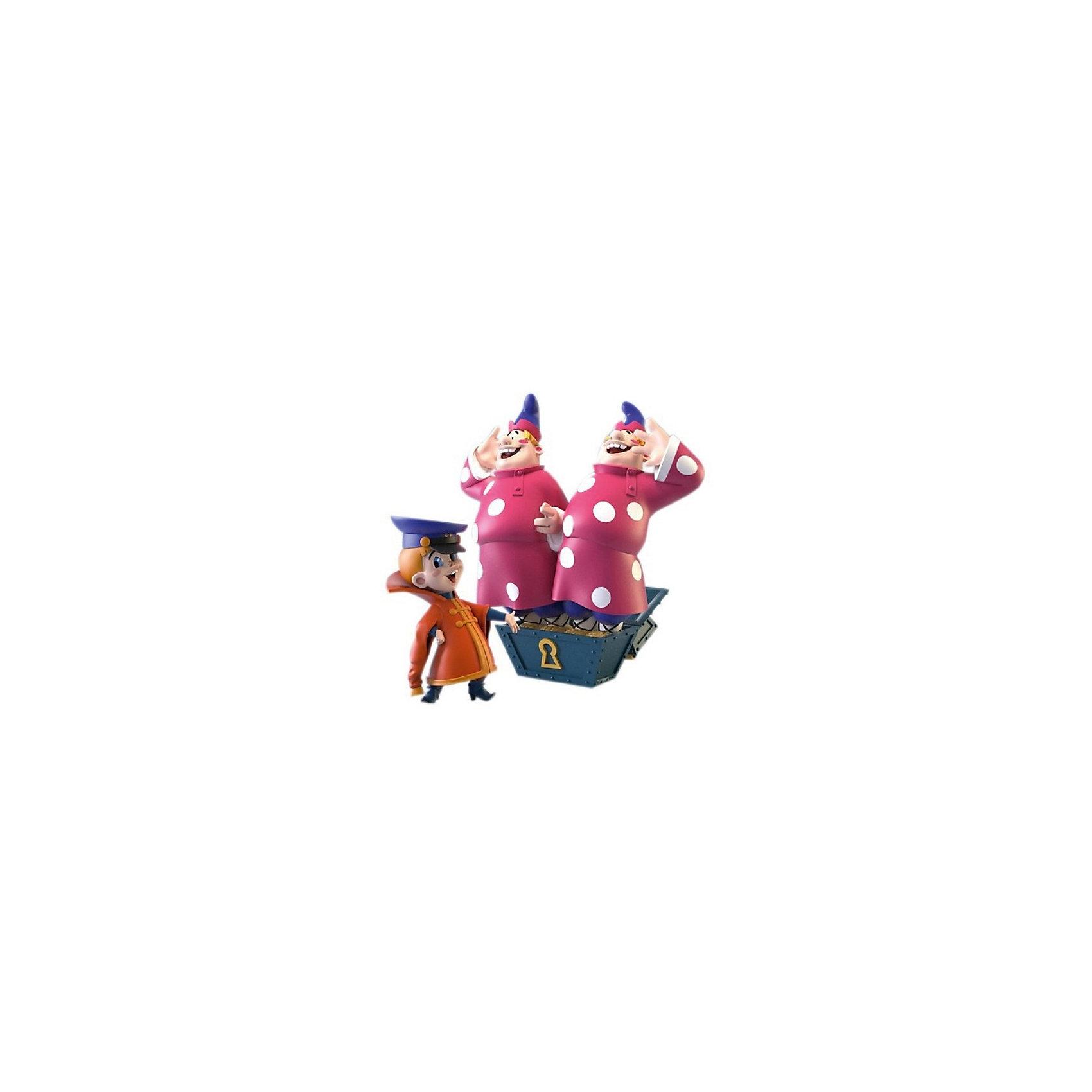 Prostotoys Набор фигурок Вовка и двое из ларца  (м/ф Вовка в тридевятом царстве), Prostotoys настольная игра русский стиль вовка в тридевятом царстве 03844
