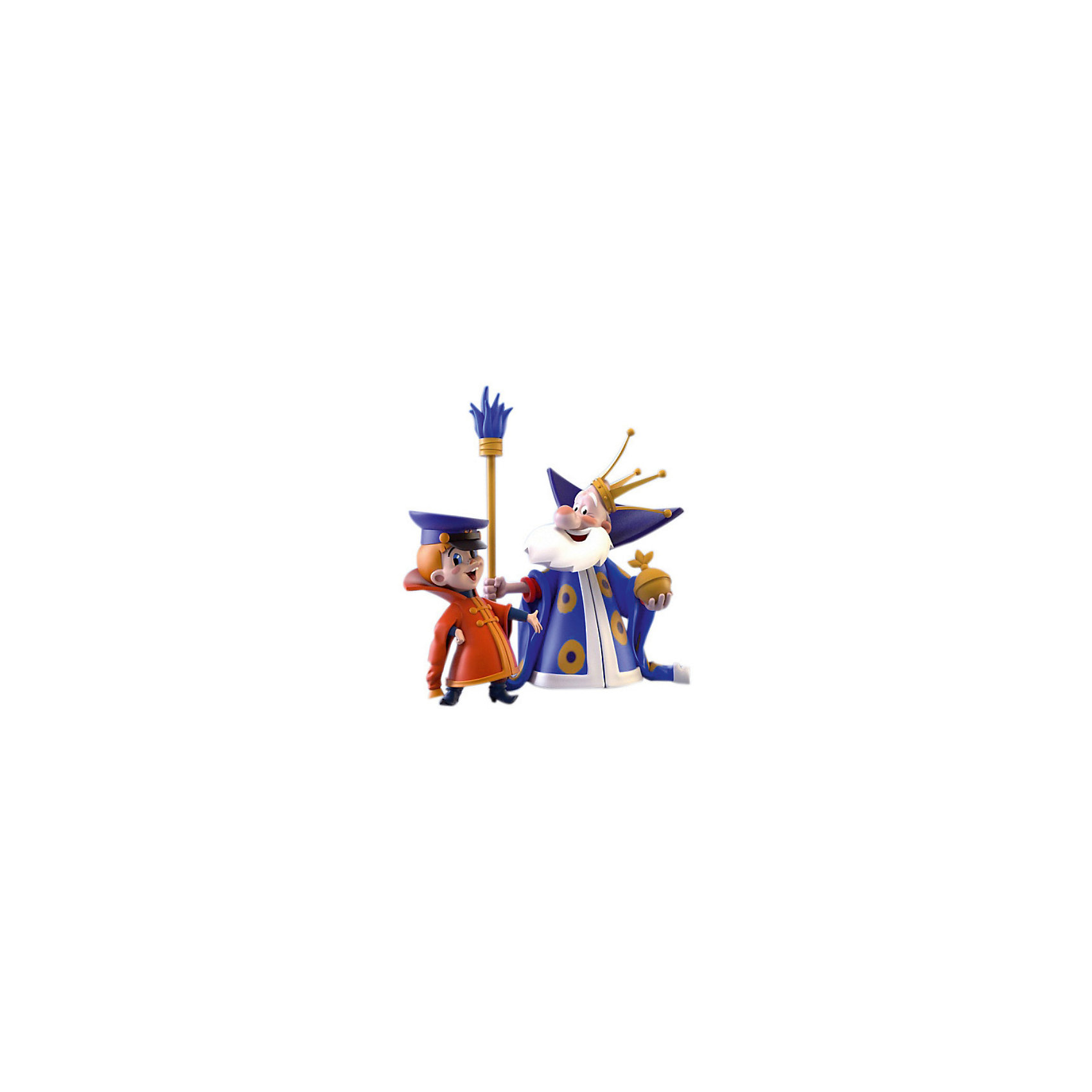 Prostotoys Набор фигурок Вовка и царь (м/ф Вовка в тридевятом царстве), Prostotoys настольная игра русский стиль вовка в тридевятом царстве 03844