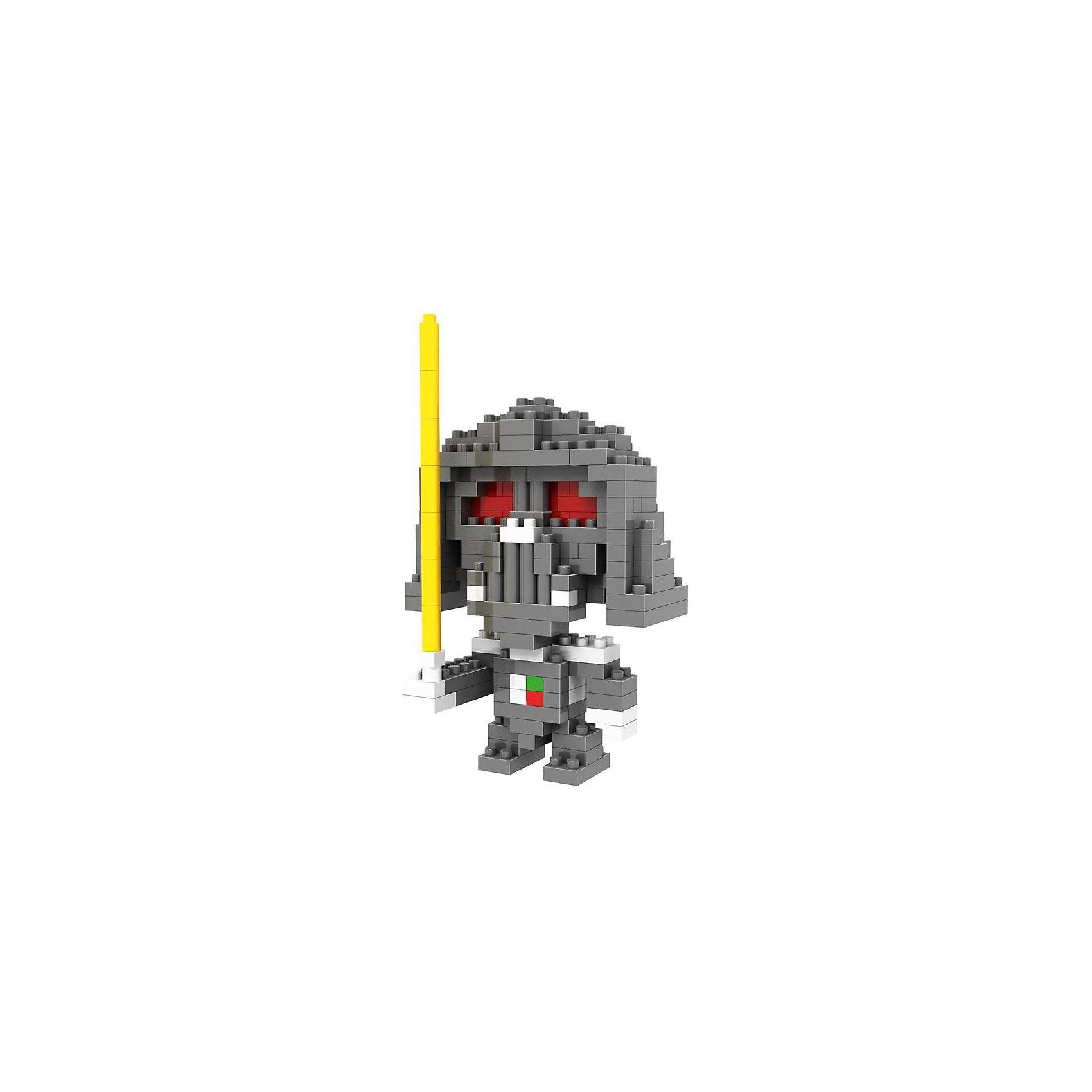 Конструктор Звездный воин Вейдер, Звездные воины, LozКонструкторы компании Loz - это необычные конструкторы. Они состоят из множества маленьких деталей - наноблоков. Конструктор Diamond Block Звездный воин Вейдер - один из конструкторов подарочной серии. Это настоящая головоломка, так как для того чтобы собрать модель, Вам потребуется пара часов и немало терпения. Результатом работы станет фигурка Дарта Вейдера из популярного фильма Звездные войны. В набор входит 180 деталей конструктора и подробная инструкция. Детали выполнены из высококачественного безопасного пластика. Рекомендовано для детей старше 9 лет.<br><br>Ширина мм: 75<br>Глубина мм: 75<br>Высота мм: 75<br>Вес г: 50<br>Возраст от месяцев: 108<br>Возраст до месяцев: 1188<br>Пол: Мужской<br>Возраст: Детский<br>SKU: 4224468