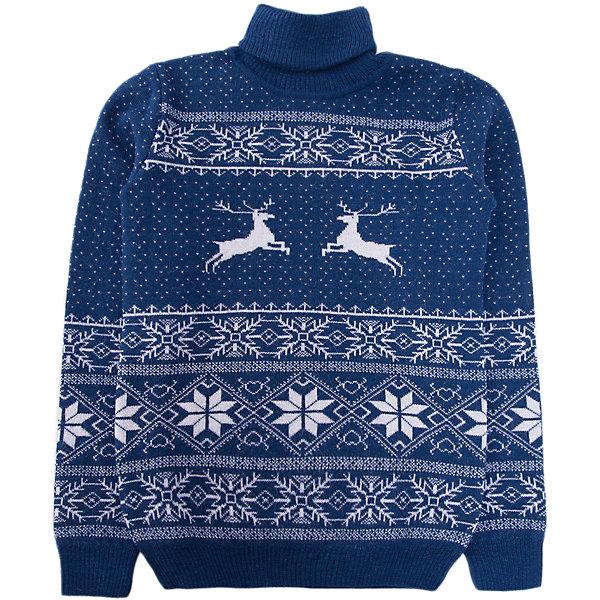 Свитер NorvegВодолазки<br>Свитер от известного бренда Norveg<br><br>Красивый свитер NORVEG Sweater Jaquard Wool  от немецкой компании Norveg (Норвег) - это удобная и красивая одежда, которая обеспечит комфортную терморегуляцию тела и на улице, и в помещении. <br>Она сделана из шерсти мериноса (австралийской тонкорунной овцы), которая обладает гипоаллергенными свойствами, поэтому не вызывает раздражения, даже если надета на голое тело.<br><br>Отличительные особенности модели:<br><br>- цвет: белый, синий;<br>- высокий ворот;<br>- анатомические трикотажные резинки внизу и на рукавах;<br>- орнамент с оленями;<br>- подходит и мальчикам, и девочкам;<br>- застежка-молния;<br>- карманы.<br><br>Дополнительная информация:<br><br>- Температурный режим: от - 20° С  до +5° С.<br><br>- Состав: 100% шерсть мериноса<br>Толстовку Norveg (Норвег) можно купить в нашем магазине.<br><br>Ширина мм: 190<br>Глубина мм: 74<br>Высота мм: 229<br>Вес г: 236<br>Цвет: синий<br>Возраст от месяцев: 84<br>Возраст до месяцев: 96<br>Пол: Унисекс<br>Возраст: Детский<br>Размер: 128/134,104/110,152/158,80/86,116/122,92,140/146<br>SKU: 4224497