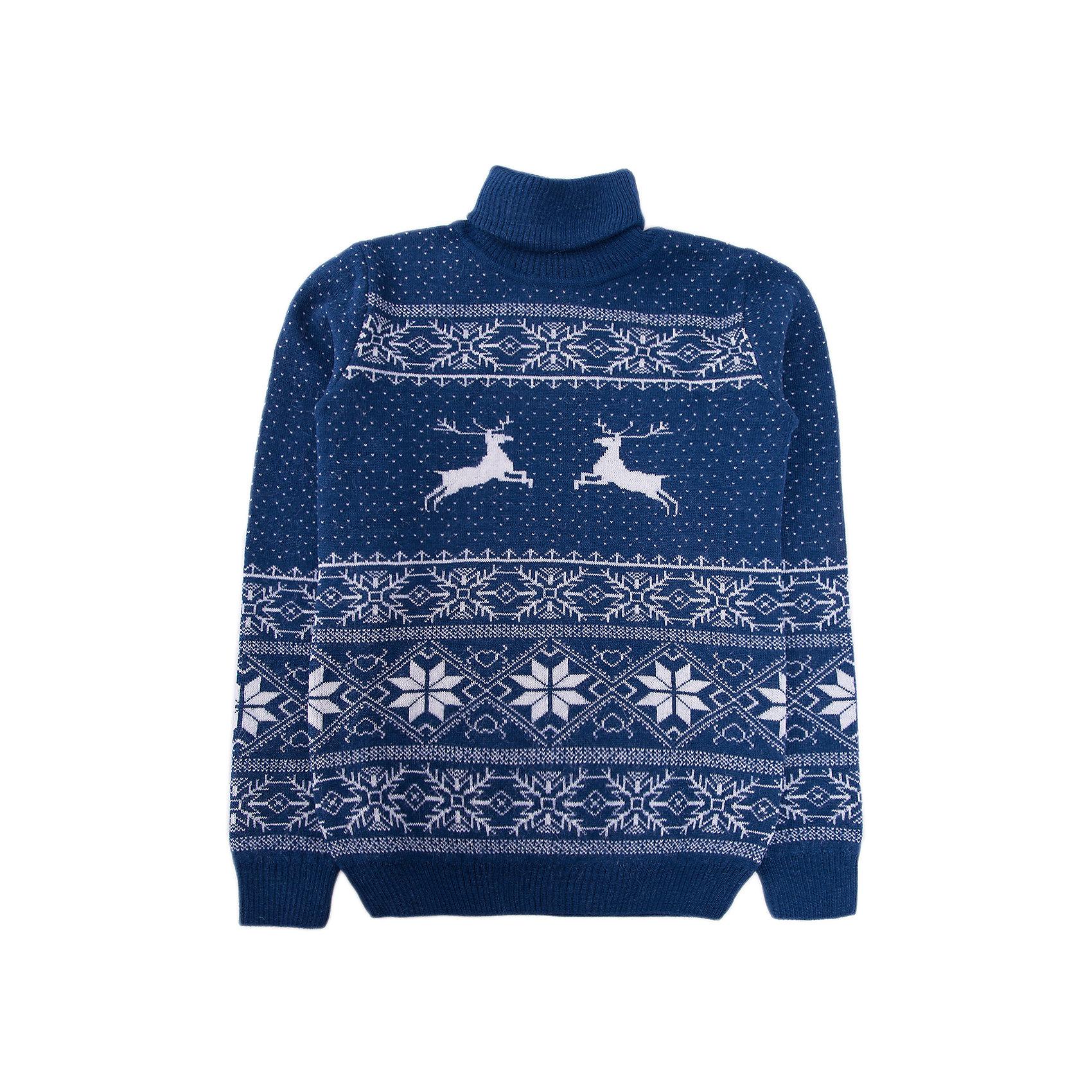 Свитер NorvegВодолазки<br>Свитер от известного бренда Norveg<br><br>Красивый свитер NORVEG Sweater Jaquard Wool  от немецкой компании Norveg (Норвег) - это удобная и красивая одежда, которая обеспечит комфортную терморегуляцию тела и на улице, и в помещении. <br>Она сделана из шерсти мериноса (австралийской тонкорунной овцы), которая обладает гипоаллергенными свойствами, поэтому не вызывает раздражения, даже если надета на голое тело.<br><br>Отличительные особенности модели:<br><br>- цвет: белый, синий;<br>- высокий ворот;<br>- анатомические трикотажные резинки внизу и на рукавах;<br>- орнамент с оленями;<br>- подходит и мальчикам, и девочкам;<br>- застежка-молния;<br>- карманы.<br><br>Дополнительная информация:<br><br>- Температурный режим: от - 20° С  до +5° С.<br><br>- Состав: 100% шерсть мериноса<br>Толстовку Norveg (Норвег) можно купить в нашем магазине.<br><br>Ширина мм: 190<br>Глубина мм: 74<br>Высота мм: 229<br>Вес г: 236<br>Цвет: синий<br>Возраст от месяцев: 36<br>Возраст до месяцев: 48<br>Пол: Унисекс<br>Возраст: Детский<br>Размер: 80/86,140/146,128/134,104/110,152/158,116,92<br>SKU: 4224497
