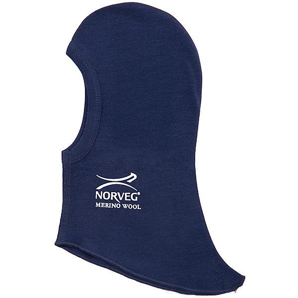 Шапка - шлем NorvegФлис и термобелье<br>Шапка-шлем от известного бренда Norveg<br><br>Шапка-шлем Norveg Soft от немецкой компании Norveg (Норвег) - это удобная и красивая одежда, которая обеспечит комфортную терморегуляцию тела и на улице, и в помещении. <br>Она сделана из шерсти мериноса (австралийской тонкорунной овцы), которая обладает гипоаллергенными свойствами, поэтому не вызывает раздражения, даже если надета на голое тело.<br><br>Отличительные особенности модели:<br><br>- цвет: синий;<br>- принт с логотипом сбоку;<br>- швы плоские, не натирают и не мешают движению;<br>- анатомические резинки;<br>- материал впитывает влагу и сразу выводит наружу;<br>- анатомический крой;<br>- подходит и мальчикам, и девочкам;<br>- не мешает под одеждой.<br><br>Дополнительная информация:<br><br>- Температурный режим: от - 20° С  до +20° С.<br><br>- Состав: 100% шерсть мериноса<br><br>Шапку-шлем Norveg (Норвег) можно купить в нашем магазине.<br>Ширина мм: 89; Глубина мм: 117; Высота мм: 44; Вес г: 155; Цвет: синий; Возраст от месяцев: 0; Возраст до месяцев: 1; Пол: Мужской; Возраст: Детский; Размер: 48,54,52,50; SKU: 4224551;