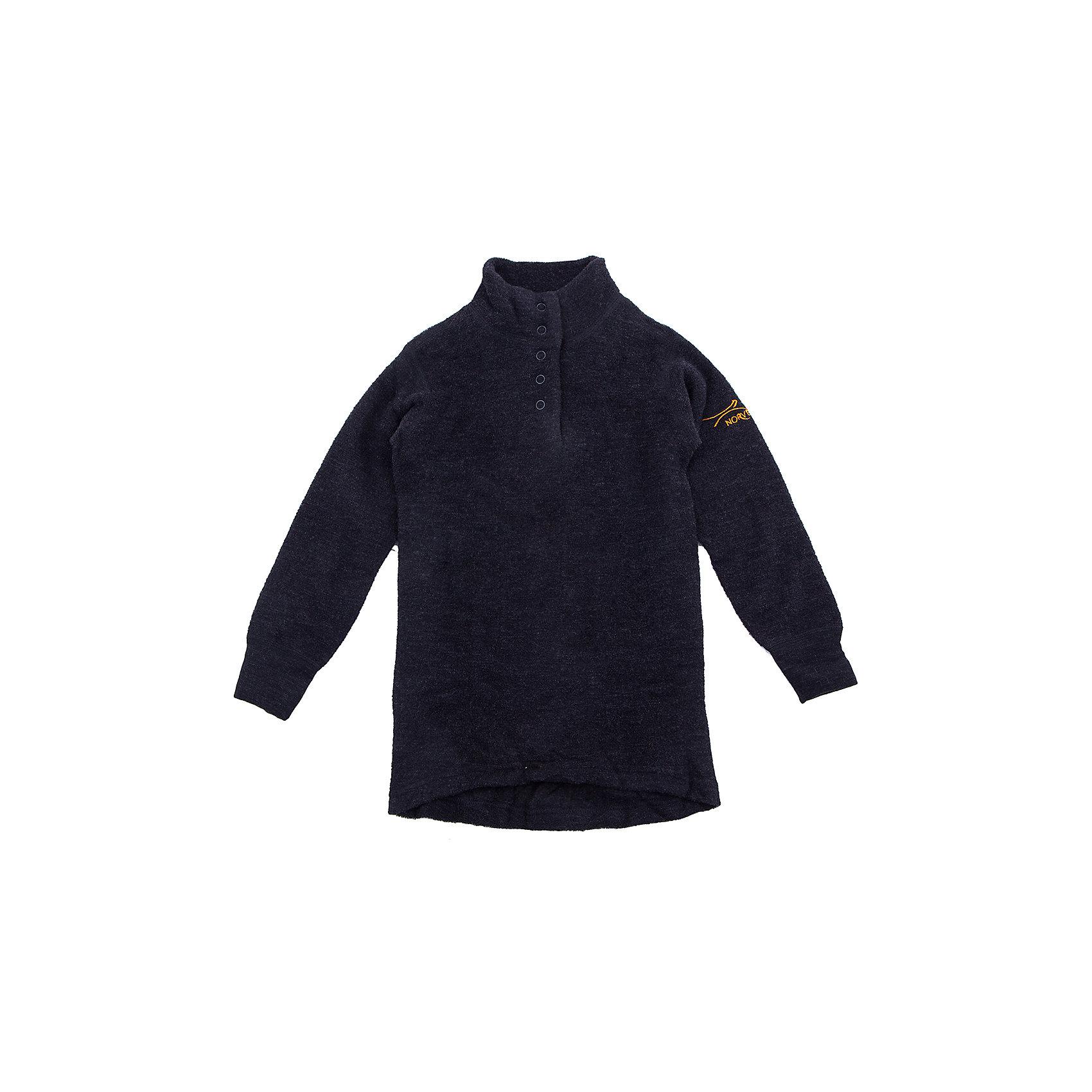 Футболка с длинным рукавом NorvegФутболка с длинным рукавом от известного бренда Norveg<br><br>Термофутболка с длинным рукавом Norveg -60 от немецкой компании Norveg (Норвег) - это удобная и красивая одежда, которая обеспечит комфортную терморегуляцию тела и на улице, и в помещении. <br>Она сделана из шерсти мериноса (австралийской тонкорунной овцы), которая обладает гипоаллергенными свойствами, поэтому не вызывает раздражения, даже если надета на голое тело.<br><br>Отличительные особенности модели:<br><br>- цвет: антрацит;<br>- удлиненная спинка;<br>- швы плоские, не натирают и не мешают движению;<br>- анатомические резинки;<br>- материал впитывает влагу и сразу выводит наружу;<br>- анатомический крой;<br>- подходит и мальчикам, и девочкам;<br>- не мешает под одеждой.<br><br>Дополнительная информация:<br><br>- Температурный режим: от - 60°  С  до -5° С.<br><br>- Состав: 100% шерсть мериносов<br>Футболку с длинным рукавом Norveg (Норвег) можно купить в нашем магазине.<br><br>Ширина мм: 199<br>Глубина мм: 10<br>Высота мм: 161<br>Вес г: 151<br>Цвет: синий<br>Возраст от месяцев: 60<br>Возраст до месяцев: 72<br>Пол: Мужской<br>Возраст: Детский<br>Размер: 116,146,152,92,98,104,122,128,134,140,110<br>SKU: 4224571