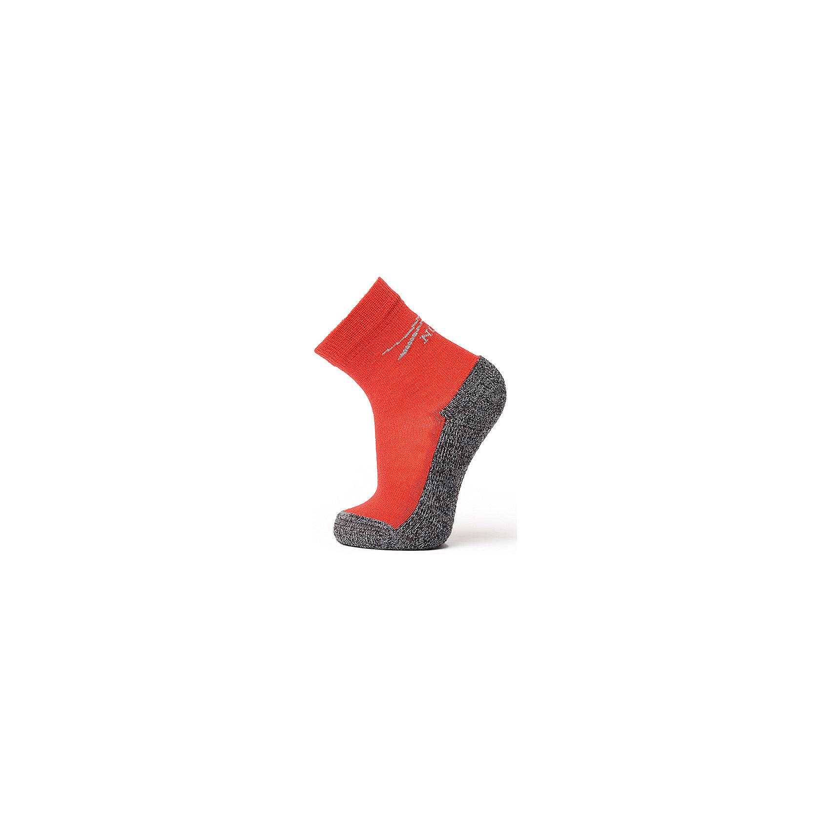 Термоноски NorvegТермоноски от известного бренда Norveg<br><br>Термоноски Norveg Multifunctional от немецкой компании Norveg (Норвег) - это удобная и красивая одежда, которая обеспечит комфортную терморегуляцию тела и на улице, и в помещении. <br>Они сделаны из шерсти мериноса (австралийской тонкорунной овцы), которая обладает гипоаллергенными свойствами, поэтому не вызывает раздражения, даже если надета на голое тело. Добавление <br>волокна с антибактериальной обработкой Polycolon помогает выводить влагу от тела. Также поликолон мешает загрязнению и повышает износоустойчивость. <br><br>Отличительные особенности модели:<br><br>- цвет: красный;<br>- анатомические резинки;<br>- материал впитывает влагу и сразу выводит наружу;<br>- анатомический крой;<br>- подходит и мальчикам, и девочкам;<br>- дополнительная фиксация в районе свода стопы;<br>- анатомическая пятка;<br>- рельефный плюш: дополнительное утепление и амортизация;<br>- бесшовный мысок.<br><br>Дополнительная информация:<br><br>- Температурный режим: от - 20° С  до +10° С.<br><br>- Состав: 65% шерсть мериносов, 15% полиэстер, 5% эластан, 15% поликолон<br><br>Носки Norveg (Норвег) можно купить в нашем магазине.<br><br>Ширина мм: 87<br>Глубина мм: 10<br>Высота мм: 105<br>Вес г: 115<br>Цвет: красный<br>Возраст от месяцев: 6<br>Возраст до месяцев: 9<br>Пол: Унисекс<br>Возраст: Детский<br>Размер: 19-22,23-26,27-30,35-38,31-34<br>SKU: 4224688