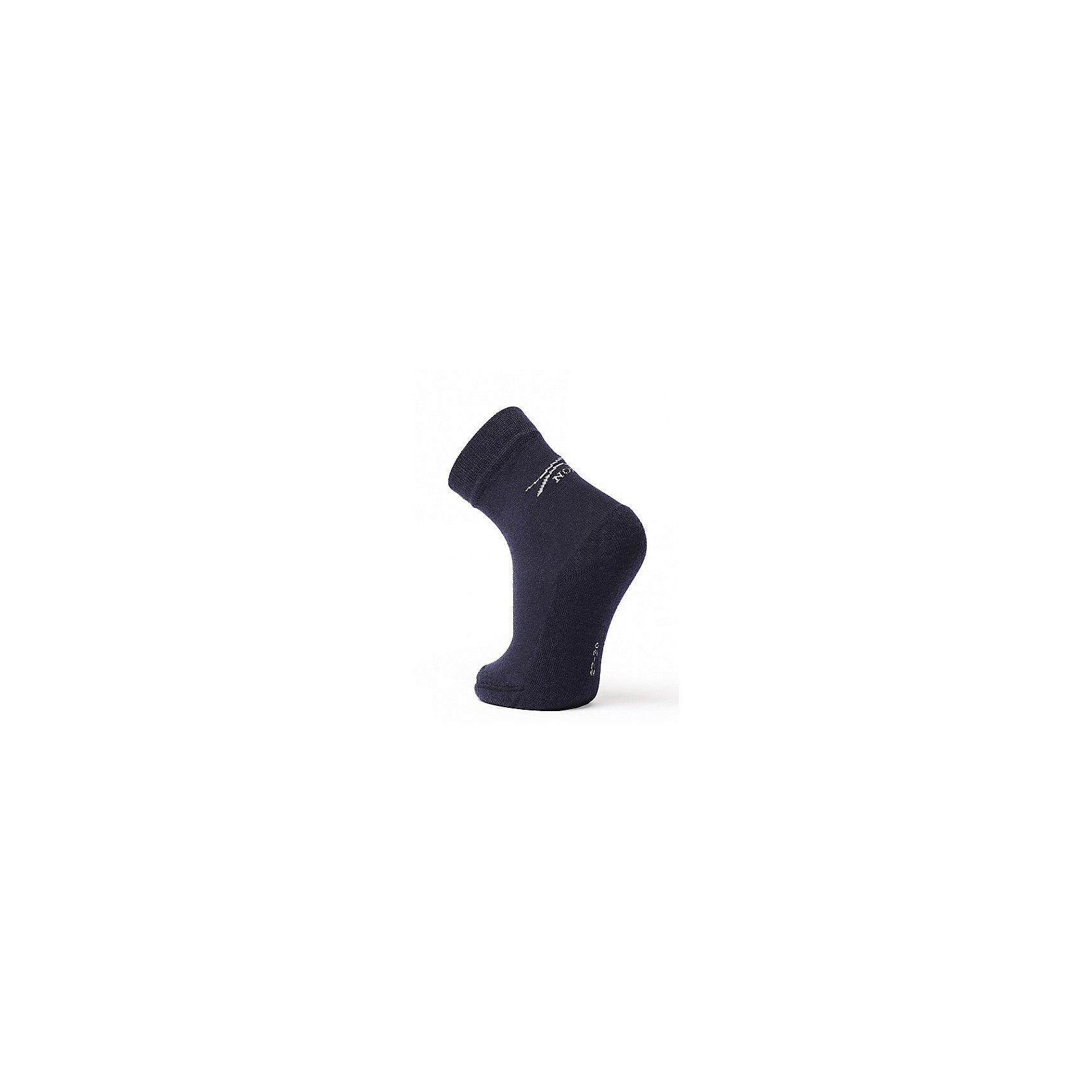 Термоноски NorvegТермоноски от известного бренда Norveg<br><br>Термоноски Norveg Soft Merino Wool от немецкой компании Norveg (Норвег) - это удобная и красивая одежда, которая обеспечит комфортную терморегуляцию тела и на улице, и в помещении. <br>Они сделаны из шерсти мериноса (австралийской тонкорунной овцы), которая обладает гипоаллергенными свойствами, поэтому не вызывает раздражения, даже если надета на голое тело. <br><br>Отличительные особенности модели:<br><br>- цвет: синий;<br>- анатомические резинки;<br>- материал впитывает влагу и сразу выводит наружу;<br>- анатомический крой;<br>- подходит и мальчикам, и девочкам;<br>- дополнительная фиксация в районе свода стопы;<br>- анатомическая пятка;<br>- бесшовный мысок.<br><br>Дополнительная информация:<br><br>- Температурный режим: от - 20° С  до +10° С.<br><br>- Состав: 87% Шерсть мериносов, 10% Полиэстер, 3% Эластан<br><br>Носки Norveg (Норвег) можно купить в нашем магазине.<br><br>Ширина мм: 87<br>Глубина мм: 10<br>Высота мм: 105<br>Вес г: 115<br>Цвет: синий<br>Возраст от месяцев: 6<br>Возраст до месяцев: 9<br>Пол: Мужской<br>Возраст: Детский<br>Размер: 19-22,23-26,35-38,27-30,31-34<br>SKU: 4224725