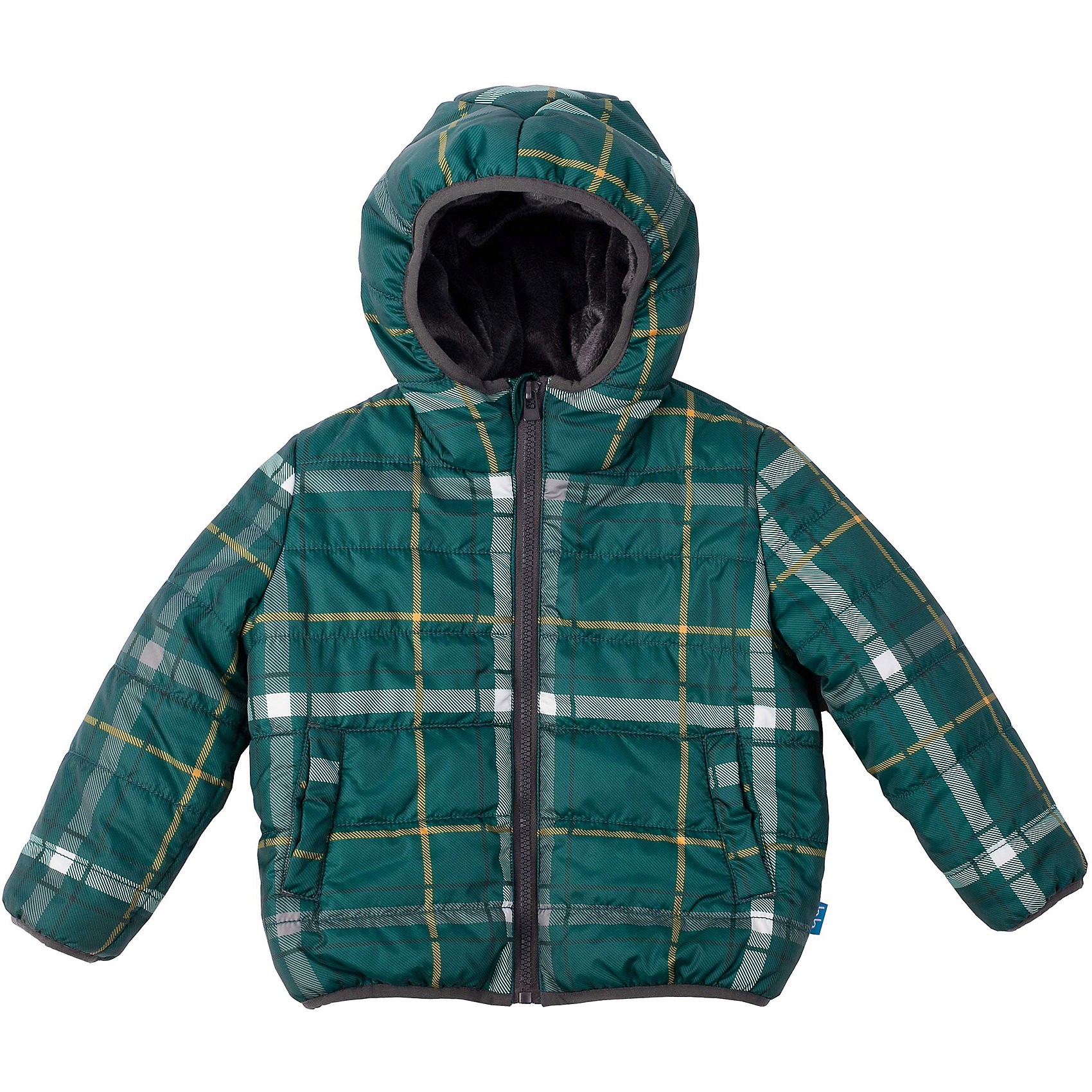 Куртка для мальчика Button BlueЯркая  клетчатая куртка на осень - ваш ответ  унылым дождливым будням! Удобный крой, функциональная карманы, контрастная подкладка обеспечат комфорт и хорошее настроение каждый день. Край куртки обработан черной эластичной тесьмой.<br>Состав:<br>тк. верха:    100%полиэстер,                           подкл.:  80%хлопок, 20%полиэстер/               утепл.:  100%полиэстер<br><br>Ширина мм: 356<br>Глубина мм: 10<br>Высота мм: 245<br>Вес г: 519<br>Цвет: разноцветный<br>Возраст от месяцев: 48<br>Возраст до месяцев: 60<br>Пол: Мужской<br>Возраст: Детский<br>Размер: 110,122,104,98,116<br>SKU: 4226979