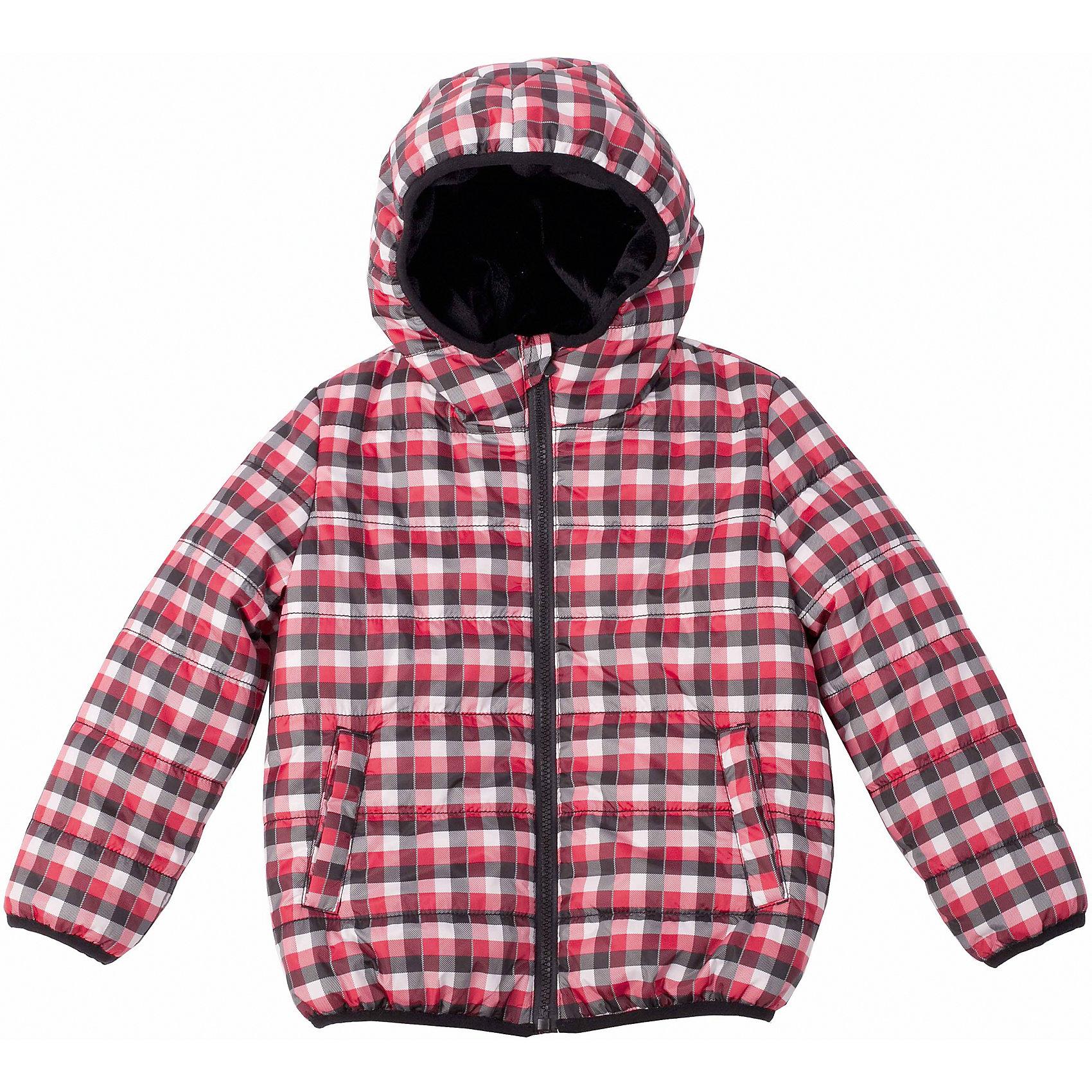 Куртка для мальчика Button BlueЯркая  клетчатая куртка на осень - ваш ответ  унылым дождливым будням! Удобный крой, функциональная карманы, контрастная подкладка обеспечат комфорт и хорошее настроение каждый день. Край куртки обработан черной эластичной тесьмой.<br>Состав:<br>тк. верха:    100%полиэстер,                           подкл.:  80%хлопок, 20%полиэстер/               утепл.:  100%полиэстер<br><br>Ширина мм: 356<br>Глубина мм: 10<br>Высота мм: 245<br>Вес г: 519<br>Цвет: разноцветный<br>Возраст от месяцев: 72<br>Возраст до месяцев: 84<br>Пол: Мужской<br>Возраст: Детский<br>Размер: 122,110,116,98,104<br>SKU: 4226985
