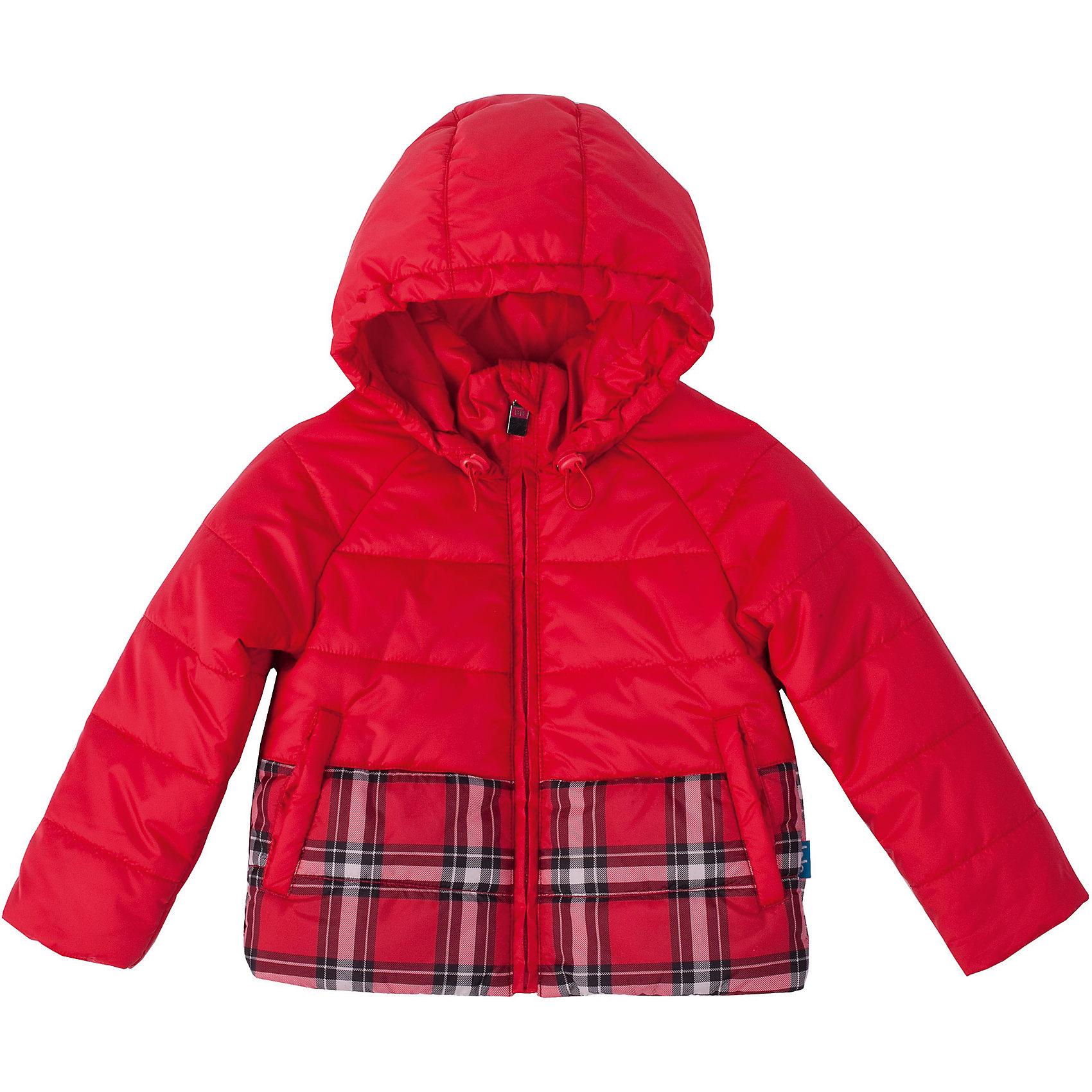 Куртка для девочки Button BlueКрасивая яркая куртка на осень - залог хорошего настроения в ненастный день! Эффектный контраст однотонной и клетчатой плащевки делает модель оригинальной и запоминающейся. Капюшон куртки имеет утяжку от продувания!<br>Состав:<br>тк. верха:                        100%полиэстер,                           подкл.:   80%хлопок 20%полиэстер/                               утепл.:  100%полиэстер<br><br>Ширина мм: 356<br>Глубина мм: 10<br>Высота мм: 245<br>Вес г: 519<br>Цвет: красный<br>Возраст от месяцев: 84<br>Возраст до месяцев: 96<br>Пол: Женский<br>Возраст: Детский<br>Размер: 128,110,116,146,122,152,140,134,98,104<br>SKU: 4227072