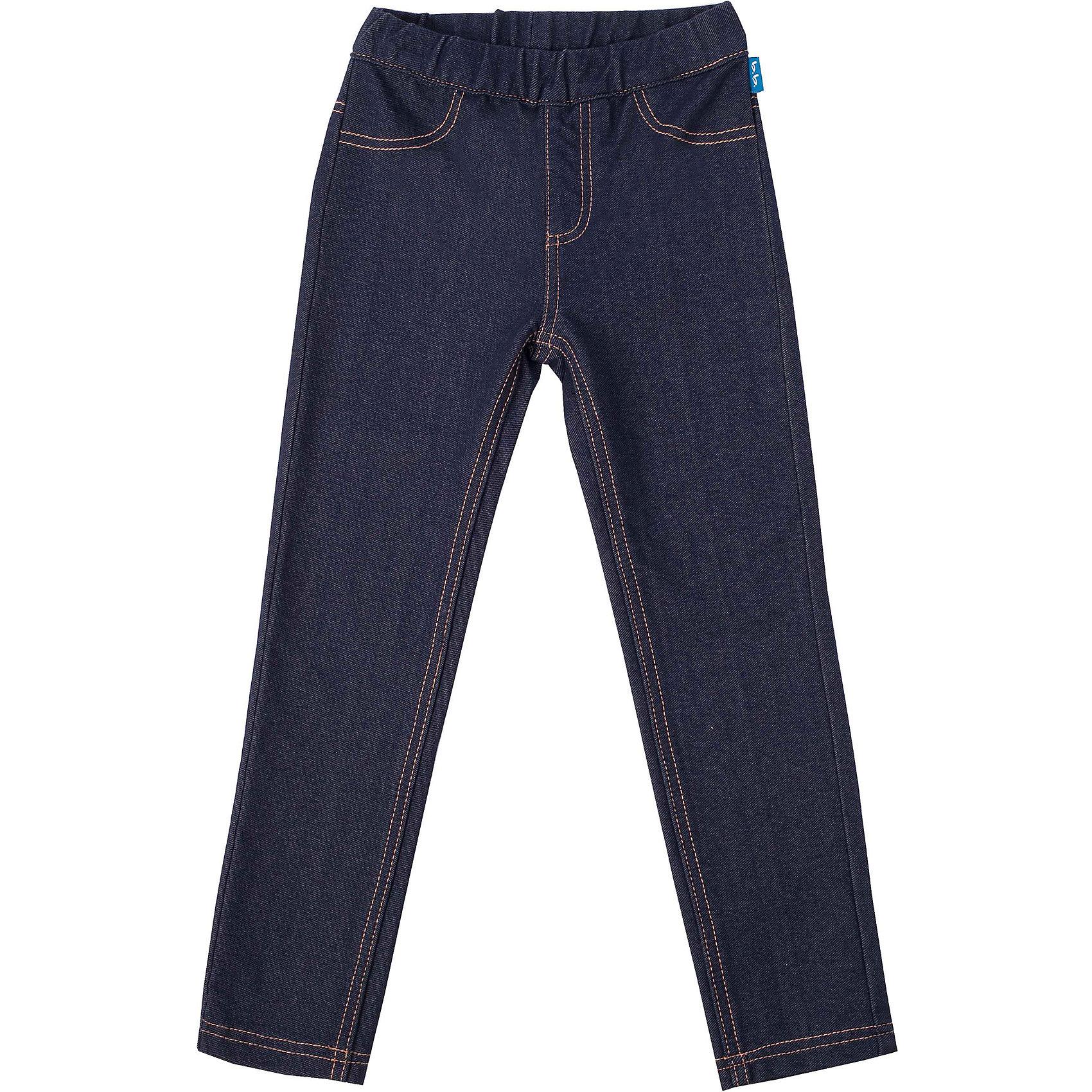 Леггинсы джинсовые для девочки Button BlueДжинсы<br>Трикотажные брюки полностью  имитируют модные джинсы облегающего силуэта. При этом они комфортны как леггины, что делает их идеальным дополнением к любой футболке, толстовке, тунике. Оптимальное решение на каждый день!<br>Состав:<br>95%хлопок 5%эластан<br><br>Ширина мм: 215<br>Глубина мм: 88<br>Высота мм: 191<br>Вес г: 336<br>Цвет: синий<br>Возраст от месяцев: 96<br>Возраст до месяцев: 108<br>Пол: Женский<br>Возраст: Детский<br>Размер: 134,152,122,110,146,158,116,128,104,98,140<br>SKU: 4227117