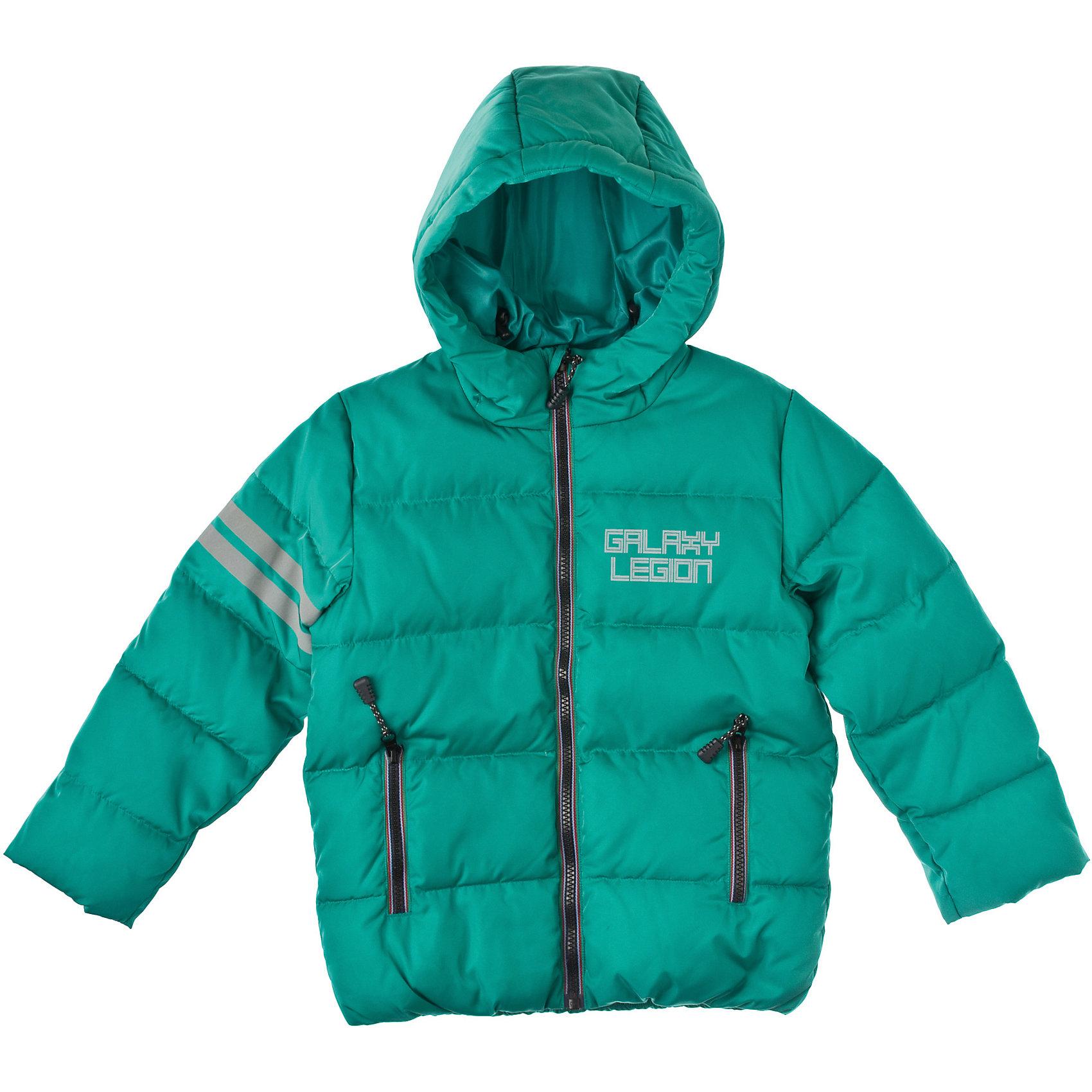 Куртка для мальчика PlayTodayВерхняя одежда<br>Куртка для мальчика PlayToday Яркая теплая куртка на молнии из непромокаемой ткани с капюшоном. Есть защита от ветра, как в спортивной одежде, и два кармана на молниях. Состав: Верх: 100% полиэстер, подкладка: 100% полиэстер, наполнитель: 62% полиэстер, 30% пух, 8% перо<br><br>Ширина мм: 356<br>Глубина мм: 10<br>Высота мм: 245<br>Вес г: 519<br>Цвет: зеленый<br>Возраст от месяцев: 36<br>Возраст до месяцев: 48<br>Пол: Мужской<br>Возраст: Детский<br>Размер: 104,98,110,128,122,116<br>SKU: 4227763