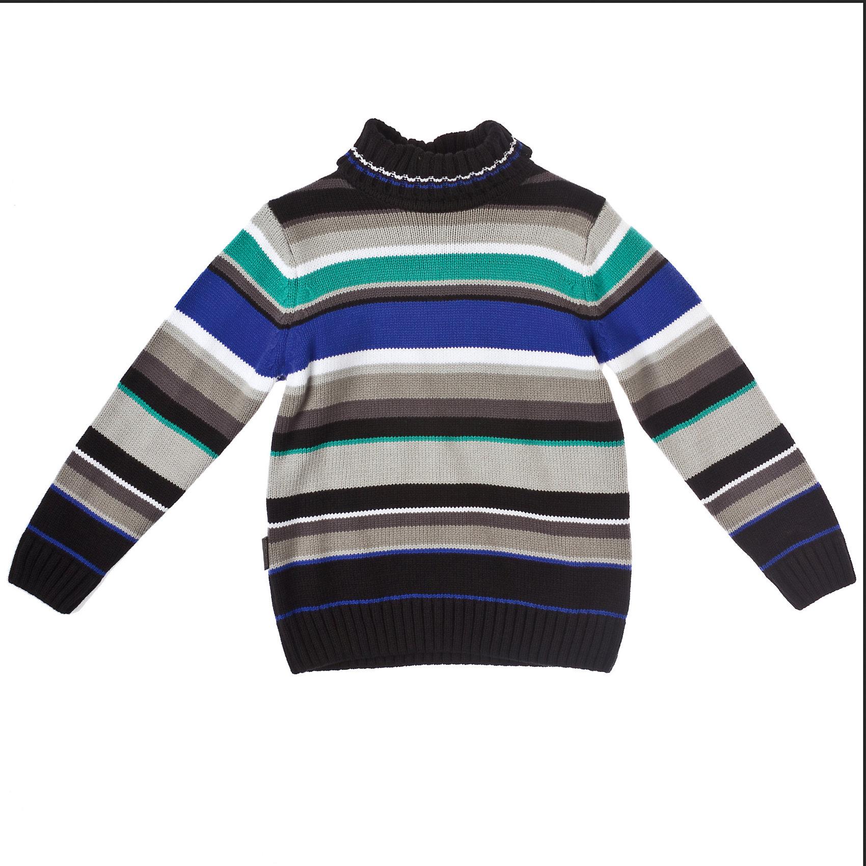 Свитер для мальчика PlayTodayСвитера и кардиганы<br>Свитер для мальчика PlayToday Теплый вязаный свитер в полоску на каждый день. <br>Высокий отложной ворот. Состав: 60% хлопок, 40% акрил<br><br>Ширина мм: 190<br>Глубина мм: 74<br>Высота мм: 229<br>Вес г: 236<br>Цвет: разноцветный<br>Возраст от месяцев: 24<br>Возраст до месяцев: 36<br>Пол: Мужской<br>Возраст: Детский<br>Размер: 98,128,110,122,116,104<br>SKU: 4227777