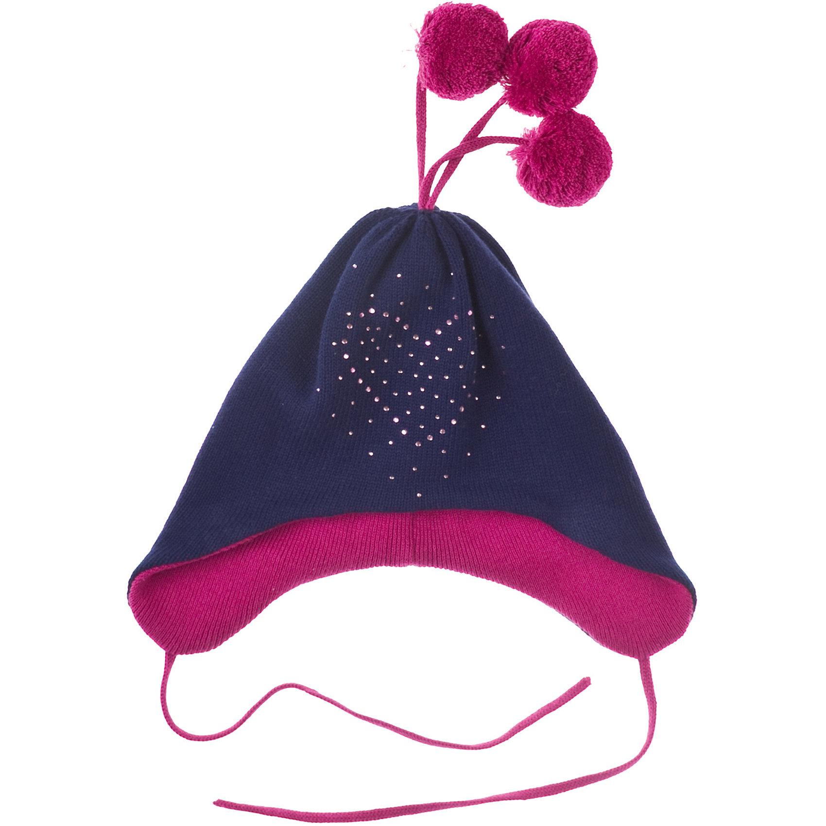 PlayToday Шапка для девочки PlayToday шапочки и чепчики playtoday шапка детская трикотажная для девочек лучшие друзья 378038