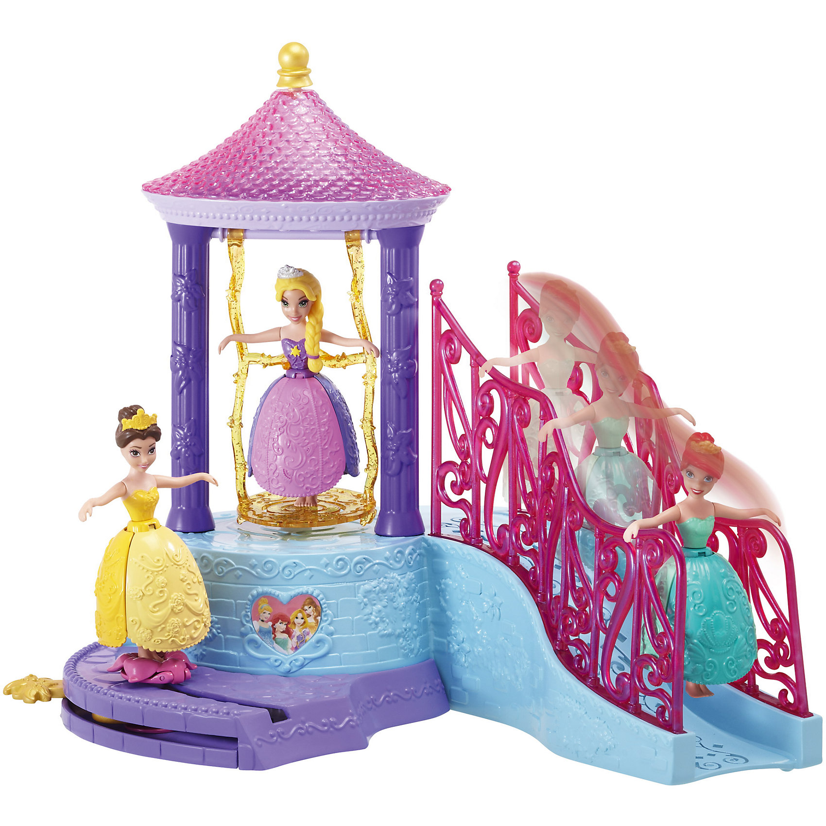 Принцесса c домиком и аксессуарами, Принцессы ДиснейПринцесса Ариэль обожает купаться. Налей воду в специальную чашу и наблюдай: прекрасное платье принцессы превращается в яркий цветок! Ариэль может свободно перемещаться по своему домику или же качаться на золотых качелях. Прекрасный набор для всех поклонниц Disney princess. <br><br>Дополнительная информация:<br><br>- Материал: пластик.<br>- Размер упаковки: 28 x 37,5 x 30 см.<br>- Комплектация: кукла, домик, аксессуары. <br><br>Принцессу c домиком и аксессуарами, Принцессы Дисней (Disney princess) можно купить в нашем магазине.<br><br>Ширина мм: 280<br>Глубина мм: 375<br>Высота мм: 300<br>Вес г: 549<br>Возраст от месяцев: 36<br>Возраст до месяцев: 144<br>Пол: Женский<br>Возраст: Детский<br>SKU: 4228121