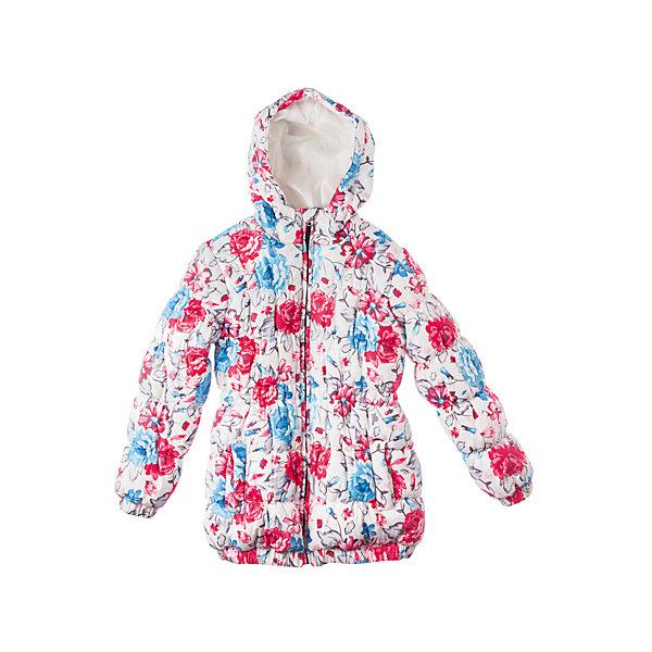 Куртка для девочки PlayTodayВерхняя одежда<br>Куртка для девочки PlayToday Классная длинная куртка из коллекции «Зимний букет». Дополнительно утеплена подкладкой из флиса. Сделана из непромокаемой ткани. Есть два кармана, капюшон втягивается стопорами. Состав: Верх: 100% полиэстер, Подкладка: 100% полиэстер, Наполнитель: 100% полиэстер<br>Ширина мм: 356; Глубина мм: 10; Высота мм: 245; Вес г: 519; Цвет: белый; Возраст от месяцев: 36; Возраст до месяцев: 48; Пол: Женский; Возраст: Детский; Размер: 104,98,110,116,128,122; SKU: 4228636;