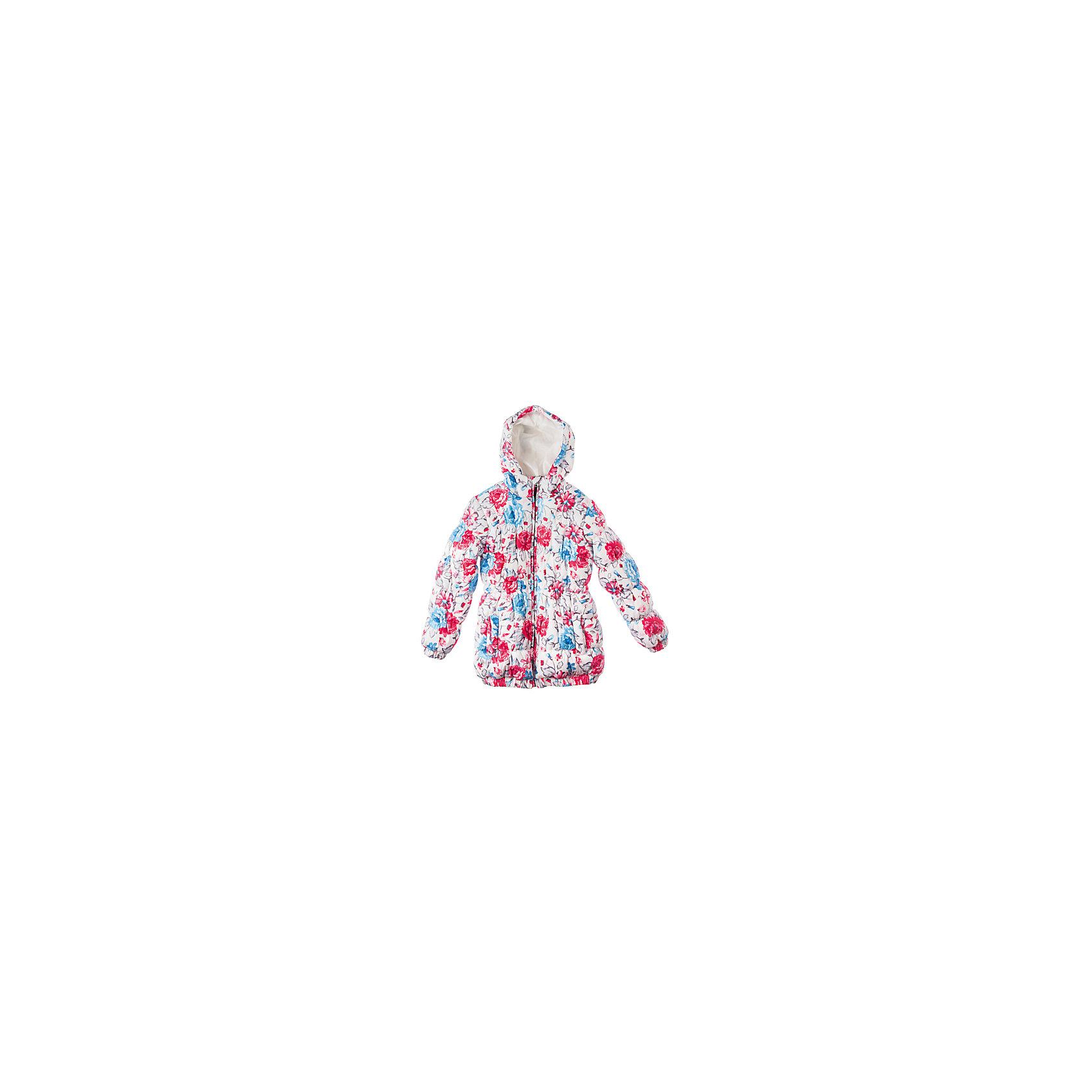 Куртка для девочки PlayTodayВерхняя одежда<br>Куртка для девочки PlayToday Классная длинная куртка из коллекции «Зимний букет». Дополнительно утеплена подкладкой из флиса. Сделана из непромокаемой ткани. Есть два кармана, капюшон втягивается стопорами. Состав: Верх: 100% полиэстер, Подкладка: 100% полиэстер, Наполнитель: 100% полиэстер<br><br>Ширина мм: 356<br>Глубина мм: 10<br>Высота мм: 245<br>Вес г: 519<br>Цвет: белый<br>Возраст от месяцев: 60<br>Возраст до месяцев: 72<br>Пол: Женский<br>Возраст: Детский<br>Размер: 116,110,98,104,122,128<br>SKU: 4228636