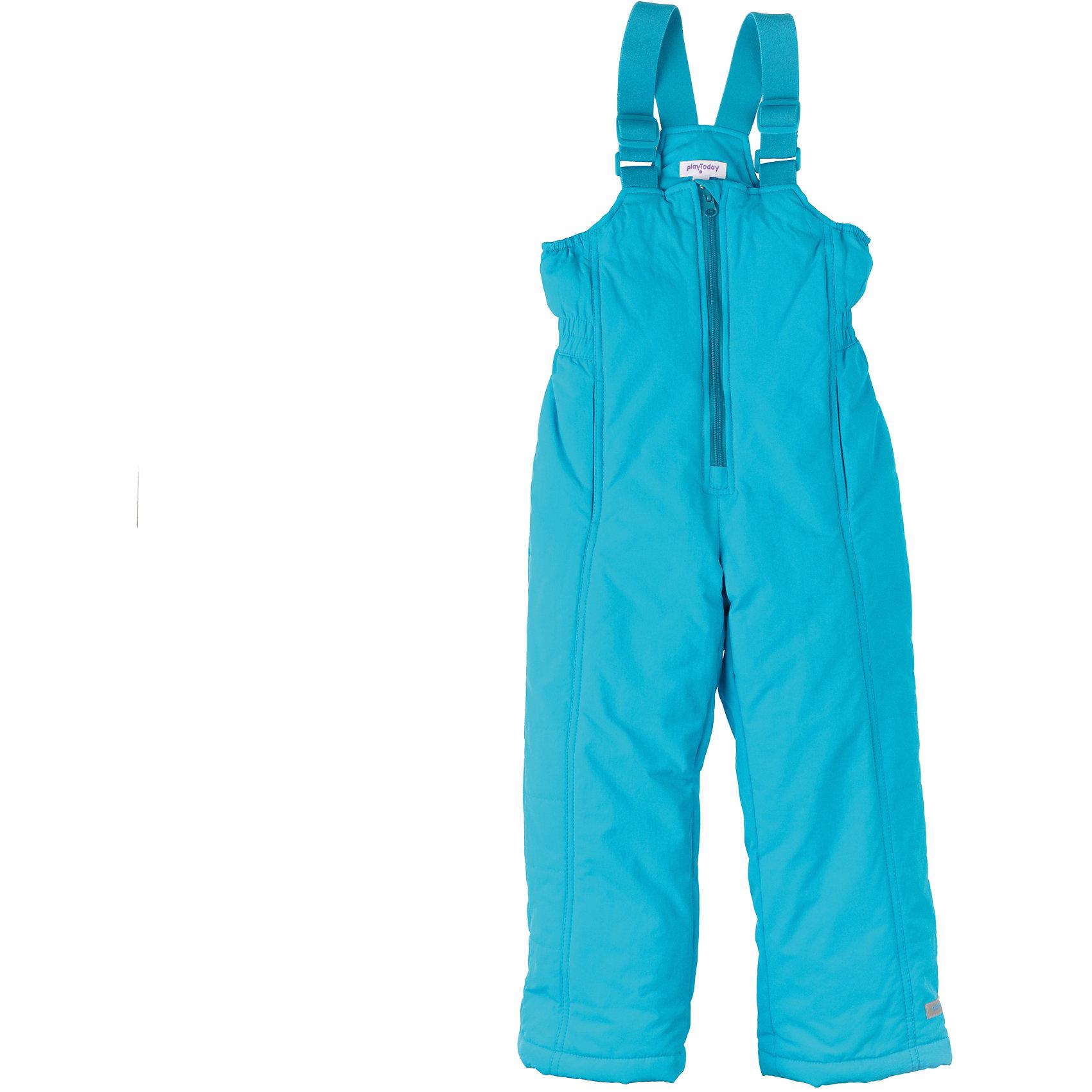 Полукомбинезон для девочки PlayTodayВерхняя одежда<br>Полукомбинезон для девочки PlayToday Теплые полукомбинезон из непромокаемой ткани на подкладке из флиса. Низ втягивается стопперами, есть два кармана. Удобные лямки-резинки, дополнительно регулируются по размеру. Состав: Верх: 100% нейлон, подкладка: 100% полиэстер, наполнитель: 100% полиэстер<br><br>Ширина мм: 215<br>Глубина мм: 88<br>Высота мм: 191<br>Вес г: 336<br>Цвет: голубой<br>Возраст от месяцев: 48<br>Возраст до месяцев: 60<br>Пол: Женский<br>Возраст: Детский<br>Размер: 110,122,128,116,104,98<br>SKU: 4228643
