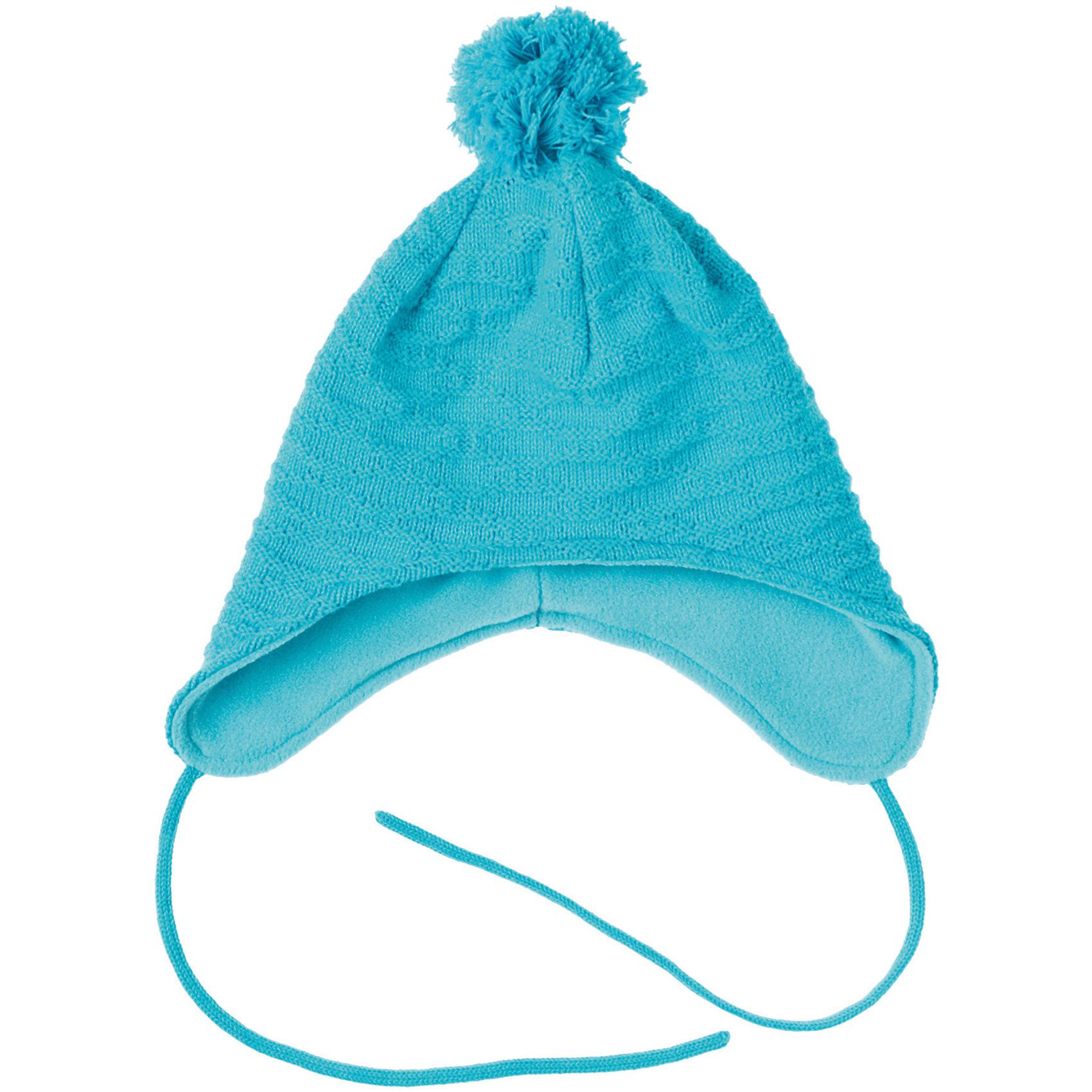 Шапка для девочки PlayTodayШапка для девочки PlayToday Теплая шапка на флисовой подкладке. Украшена помпоном и объемной вязкой. Состав: Верх: 60% хлопок, 40% акрил Подкладка: 100% полиэстер<br><br>Ширина мм: 89<br>Глубина мм: 117<br>Высота мм: 44<br>Вес г: 155<br>Цвет: голубой<br>Возраст от месяцев: 84<br>Возраст до месяцев: 96<br>Пол: Женский<br>Возраст: Детский<br>Размер: 54,52,50<br>SKU: 4228678