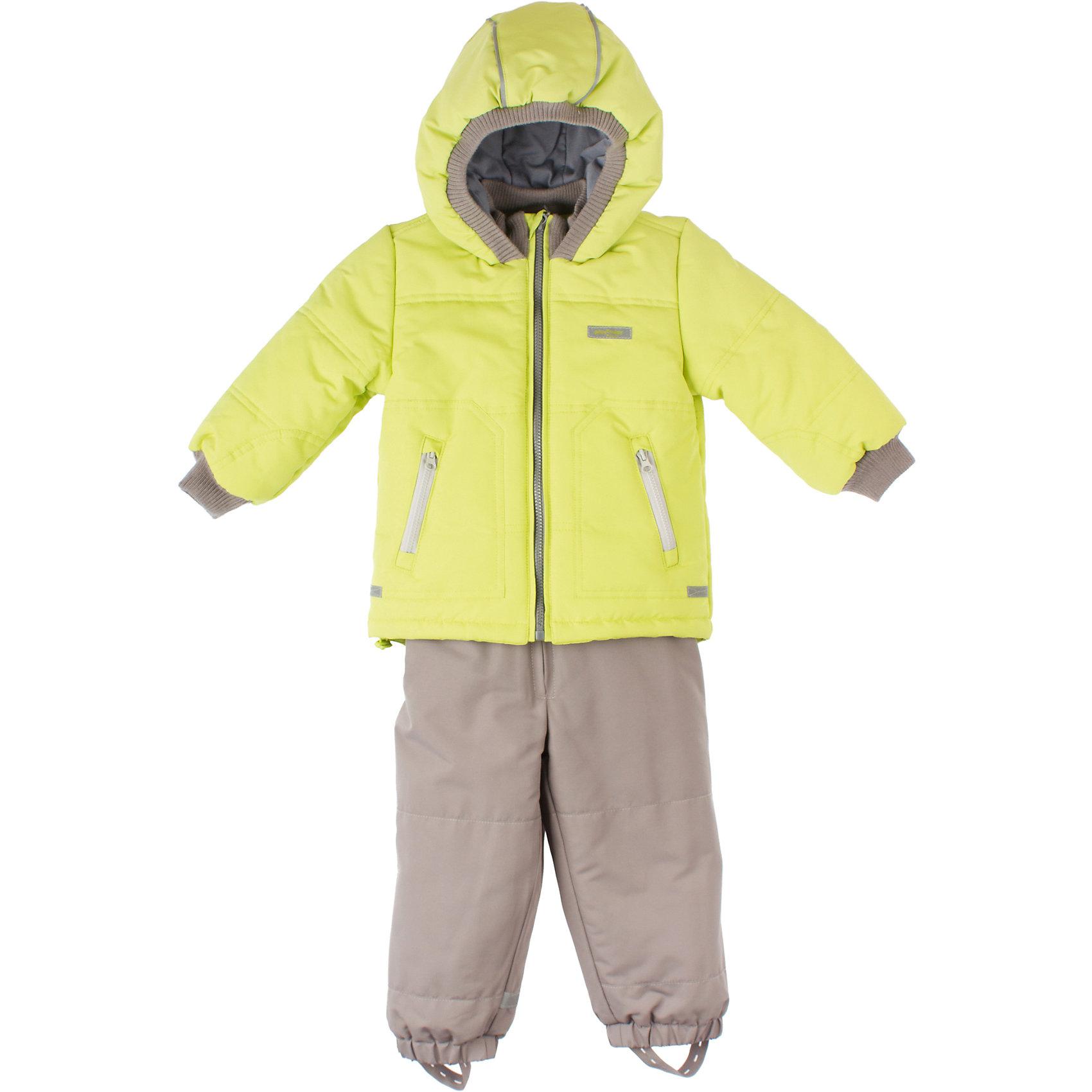 Комплект: куртка и брюки для мальчика PlayTodayДемисезонный комплект для мальчика PlayToday Стильный комплект для холодной погоды. Яркая зеленая куртка на молнии с теплым капюшоном и мягкой трикотажной подкладкой. Есть два кармана на молнии, стопперы и светоотражатели. Состав: Верх: 100% полиэстер, подкладка: 60% хлопок, 40% полиэстер, наполнитель: 100% полиэстер<br><br>Ширина мм: 190<br>Глубина мм: 74<br>Высота мм: 229<br>Вес г: 236<br>Цвет: зеленый<br>Возраст от месяцев: 6<br>Возраст до месяцев: 9<br>Пол: Мужской<br>Возраст: Детский<br>Размер: 74,80,86,92<br>SKU: 4228979