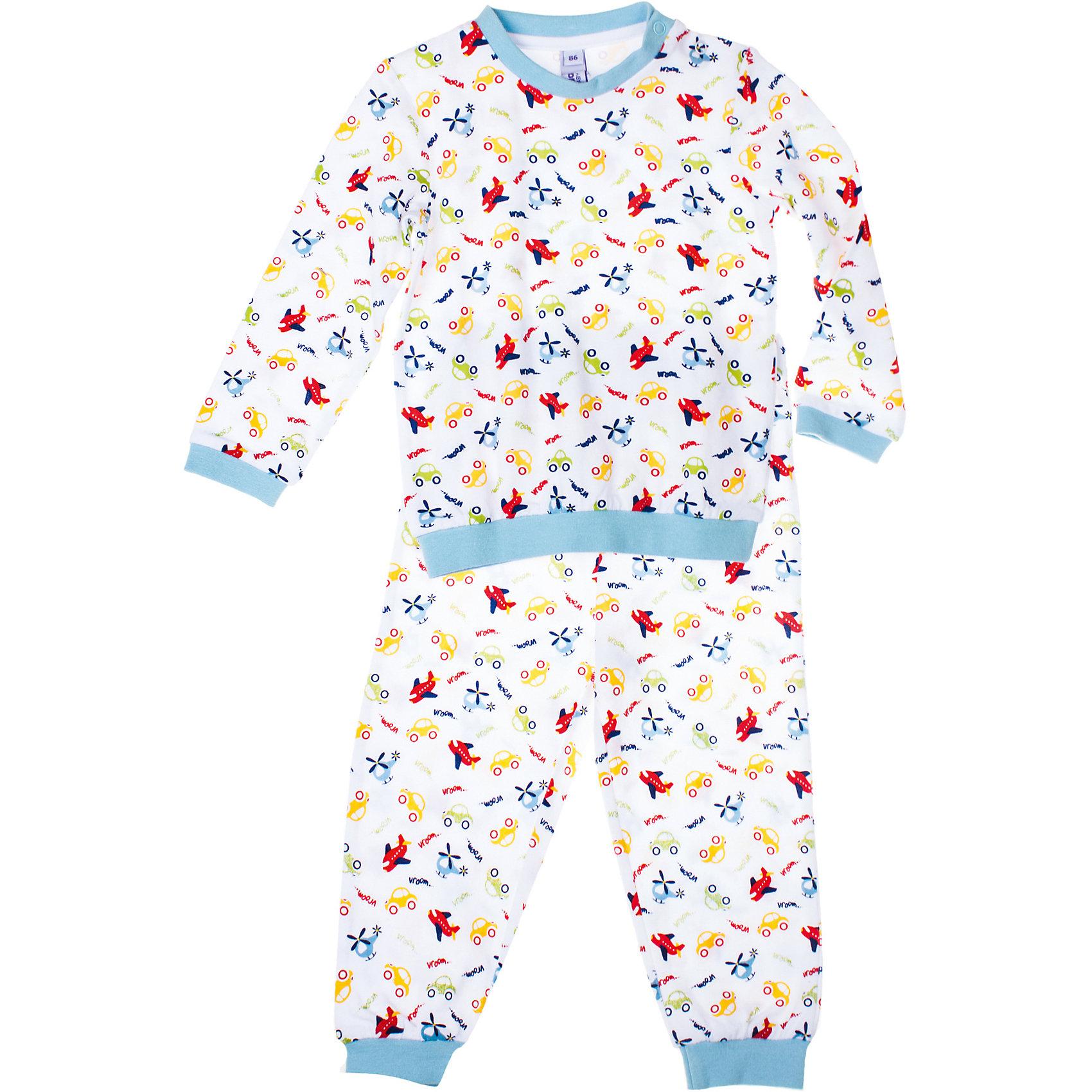 Пижама для мальчика PlayTodayПижама для мальчика PlayToday Хлопковая пижама с красочным принтом. Обязательно понравится вашему малышу. Крой свободный, материал легкий и практичный в носке. Состав: 95% хлопок, 5% эластан<br><br>Ширина мм: 281<br>Глубина мм: 70<br>Высота мм: 188<br>Вес г: 295<br>Цвет: белый<br>Возраст от месяцев: 6<br>Возраст до месяцев: 9<br>Пол: Мужской<br>Возраст: Детский<br>Размер: 74,80,92,86<br>SKU: 4229048