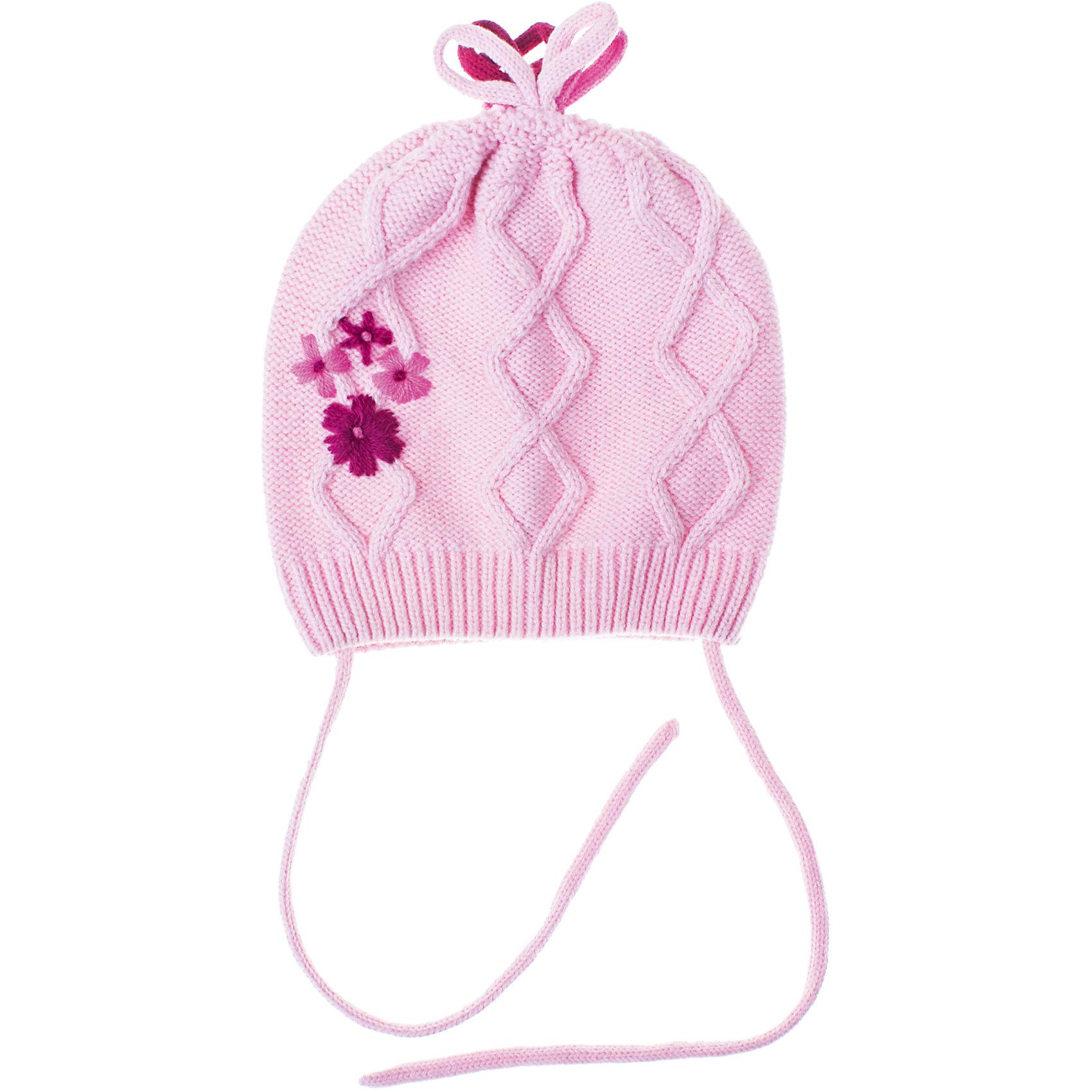 PlayToday Шапка для девочки PlayToday шапочки и чепчики playtoday шапка детская трикотажная для девочек лучшие друзья 378034