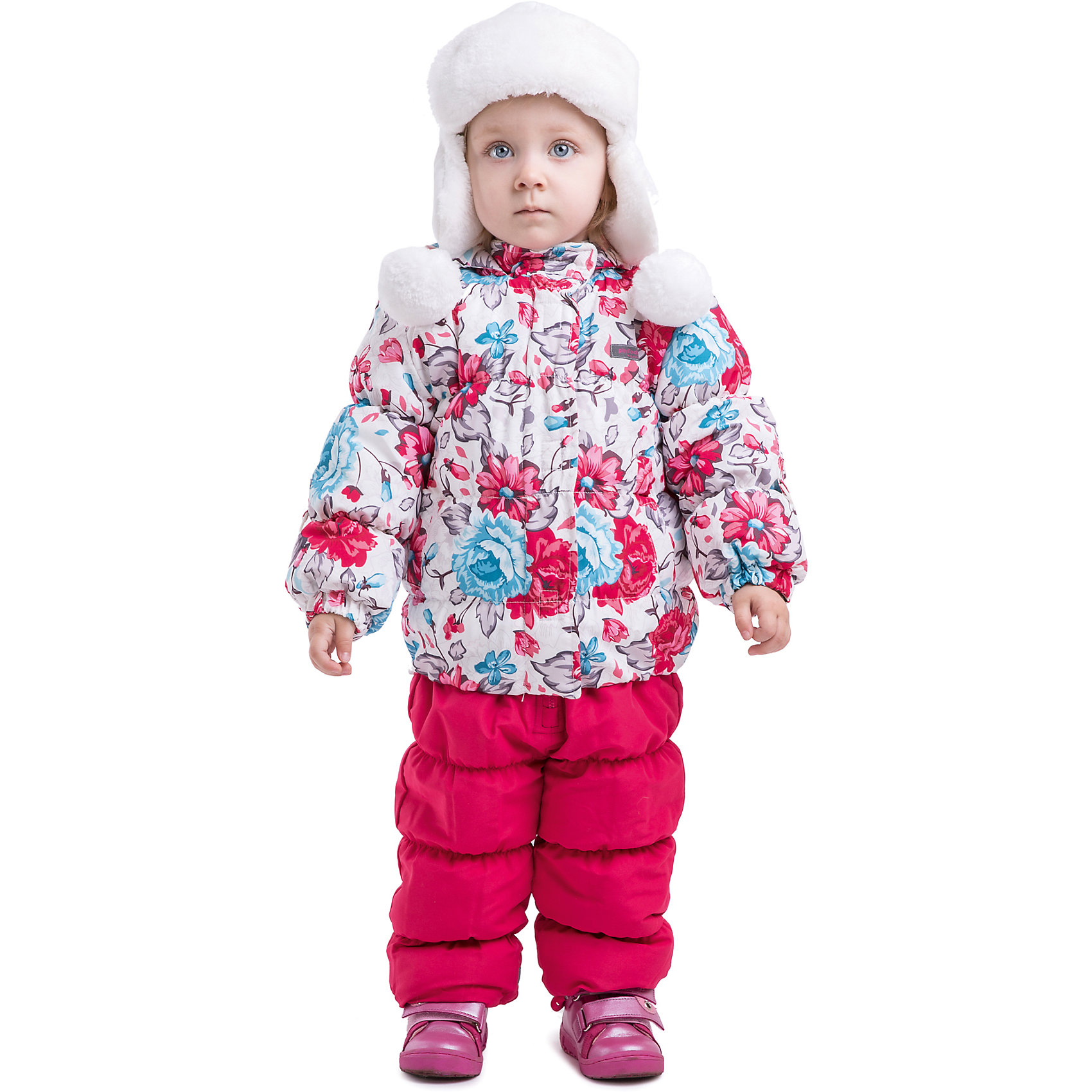 Комплект: куртка и полукомбинезон для девочки PlayTodayВерхняя одежда<br>Комплект: куртка и полукомбинезон для девочки PlayToday Комплект из куртки и полукомбинезона на холодную погоду из непромокаемой ткани. Дополнительно утеплен велюровой подкладкой. Капюшон отстёгивается. Карманы на липучках. Удобная молния, дополнительные застежки-липучки на куртке. Также есть дополнительная защита от ветра и снега как в спортивных куртках. Низ утягивается стопперами. Дополнительная трикотажная резинка на рукавах. Есть светоотражатели и специальные нашивки, чтобы можно было подписать владельца. Состав: Верх: 100% полиэстер, подкладка: 80% хлопок, 20% полиэстер, Утеплитель 100% полиэстер<br><br>Ширина мм: 190<br>Глубина мм: 74<br>Высота мм: 229<br>Вес г: 236<br>Цвет: розовый<br>Возраст от месяцев: 6<br>Возраст до месяцев: 9<br>Пол: Женский<br>Возраст: Детский<br>Размер: 74,86,80,92<br>SKU: 4229330