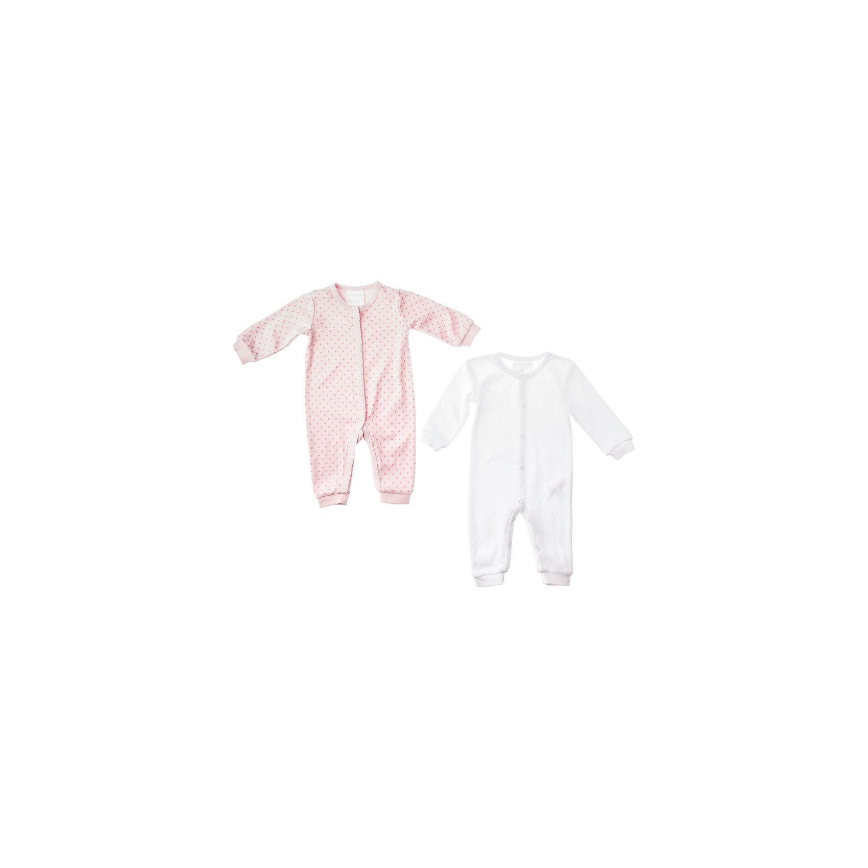 Комбинезон ( 2 шт.) для девочки PlayTodayПижамы и сорочки<br>Комбинезон ( 2 шт.) для девочки PlayToday Комплект из двух комбинезонов для новорожденной. Стопроцентный хлопок, застёжки-кнопки. Состав: 100% хлопок<br><br>Ширина мм: 157<br>Глубина мм: 13<br>Высота мм: 119<br>Вес г: 200<br>Цвет: розовый/белый<br>Возраст от месяцев: 2<br>Возраст до месяцев: 5<br>Пол: Женский<br>Возраст: Детский<br>Размер: 62,56,68,74<br>SKU: 4229420