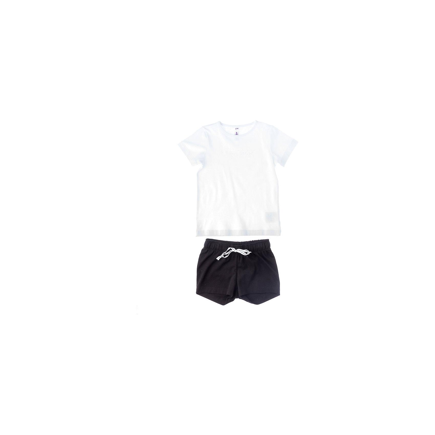 Комплект: майка и шорты для девочки PlayToday