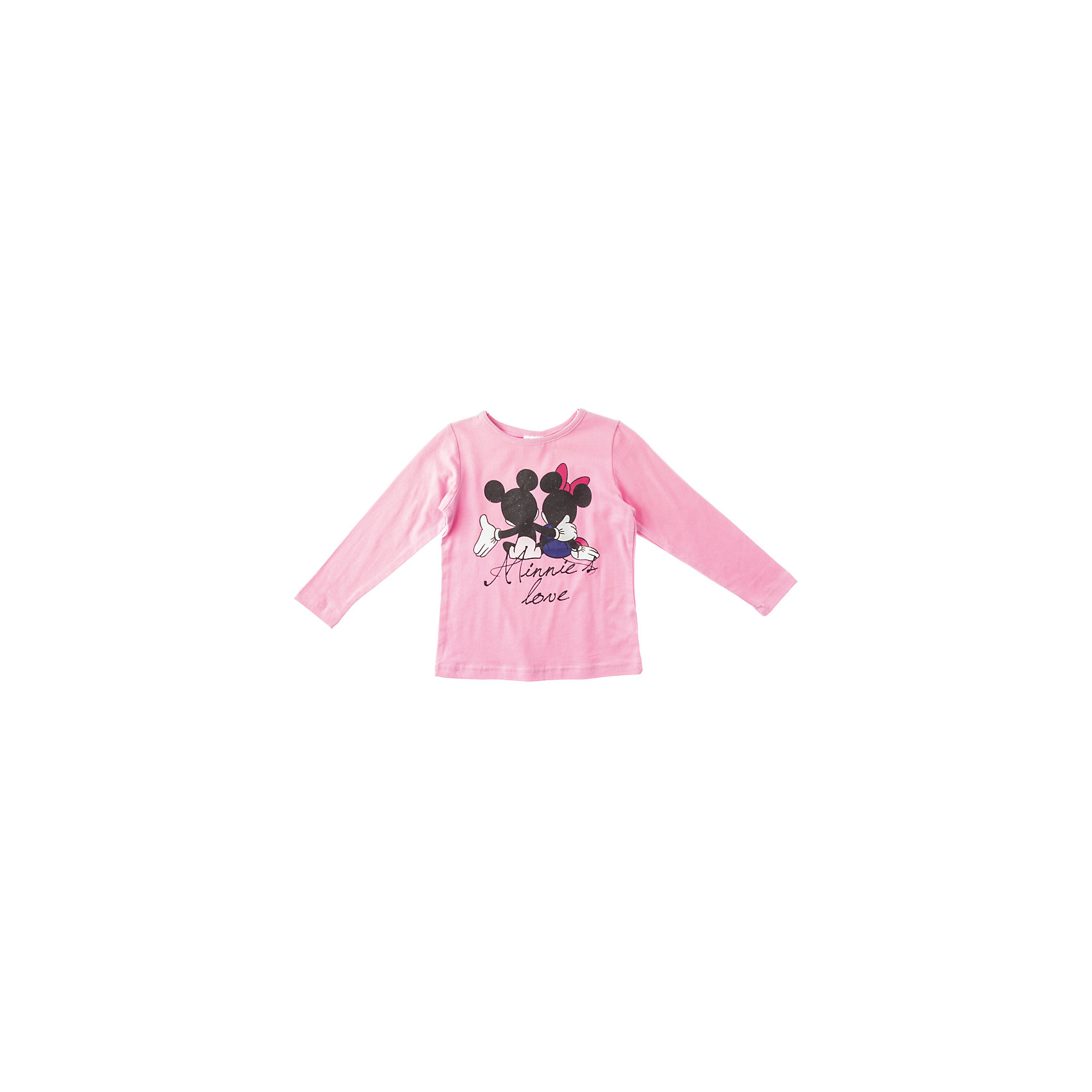 Футболка с длинным рукавом для девочки PlayTodayФутболки с длинным рукавом<br>Футболка для девочки PlayToday Ярко-розовая футболка с длинными рукавами, украшена блестками и принтом с Микки и Минни. Качественный хлопковый материал. Состав: 95% хлопок, 5% эластан<br><br>Ширина мм: 199<br>Глубина мм: 10<br>Высота мм: 161<br>Вес г: 151<br>Цвет: розовый<br>Возраст от месяцев: 72<br>Возраст до месяцев: 84<br>Пол: Женский<br>Возраст: Детский<br>Размер: 122,116,98,110,128,104<br>SKU: 4229614