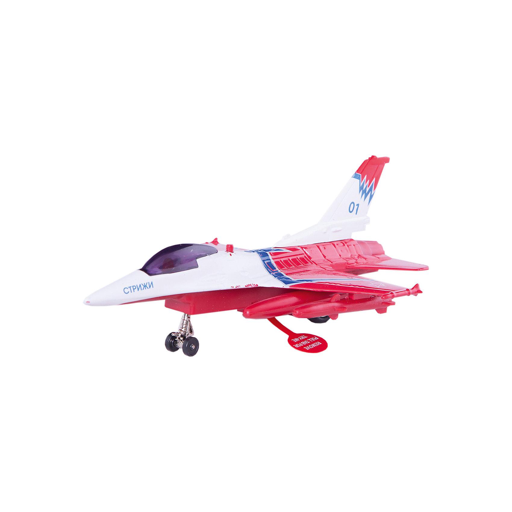 Истребитель, инерционный, со светом и звуком, ТЕХНОПАРКСамолёты и вертолёты<br>Самолет является уменьшенной копией истребителя Стрижи.  Игрушка выполнена из высококачественных материалов, хорошо детализирована, имеет инерционный механизм, световые и звуковые эффекты. Прекрасное дополнение в коллекцию юных любителей самолетов!  <br><br>Дополнительная информация:<br><br>- Материал: пластик, металл.<br>- Размер упаковки:  14 x 26 x 15 см.<br>- Элемент питания: батарейки (в комплекте).<br>- Световые и звуковые эффекты. <br><br>Истребитель, инерционный, со светом и звуком, ТЕХНОПАРК, можно купить в нашем магазине.<br><br>Ширина мм: 260<br>Глубина мм: 150<br>Высота мм: 140<br>Вес г: 380<br>Возраст от месяцев: 36<br>Возраст до месяцев: 192<br>Пол: Мужской<br>Возраст: Детский<br>SKU: 4231398