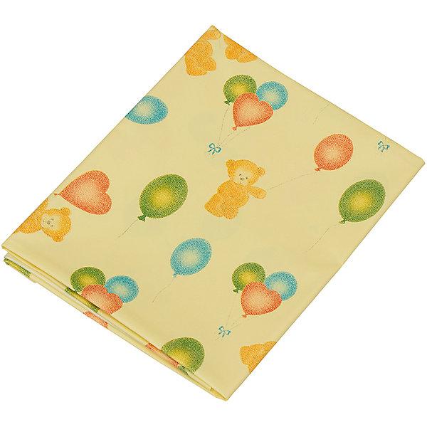 Клеёнка-наматрасник  с ПВХ покрытием, Roxy-Kids, желтыйНаматрасники для детских матрасов<br>Клеёнка-наматрасник  с ПВХ покрытием, Roxy-Kids, желтый идеально подходит к размерам детских матрасиков в кроватках и колясках и рекомендована к применению в быту при уходе за малышами!<br><br>Характеристики:<br>-Соответствует всем медицинским требованиям <br>-Резинки-держатели не дадут клеенке соскользнуть с матраса<br>-Изготовлена из полиэфирной ткани: влагонепроницаемая, газопроницаемая и паропроницаемая, что способствует профилактики детских опрелостей <br>-ПВХ покрытие на лицевой стороне обладает отличной теплопроводностью, быстро приобретает температуру тела без «эффекта холодного прикосновения»<br>-Идеально подходит к размерам детских матрасиков в кроватках и колясках<br><br>Дополнительная информация:<br>-Размер: 100х70 см<br>-Размеры в упаковке: 21х17 см<br>-Вес в упаковке: 50 г<br>-Цвет: желтый<br>-Материалы: ПВХ, текстиль<br><br>Безопасная и практичная клеёнка-наматрасник  с ПВХ покрытием идеальна для защиты детской кожи и постельного белья и матраса, и с ней сон малыша будет сладким и крепким!<br><br>Клеёнка-наматрасник  с ПВХ покрытием, Roxy-Kids, желтый можно купить в нашем магазине.<br><br>Ширина мм: 210<br>Глубина мм: 170<br>Высота мм: 0<br>Вес г: 50<br>Возраст от месяцев: 0<br>Возраст до месяцев: 12<br>Пол: Унисекс<br>Возраст: Детский<br>SKU: 4231877
