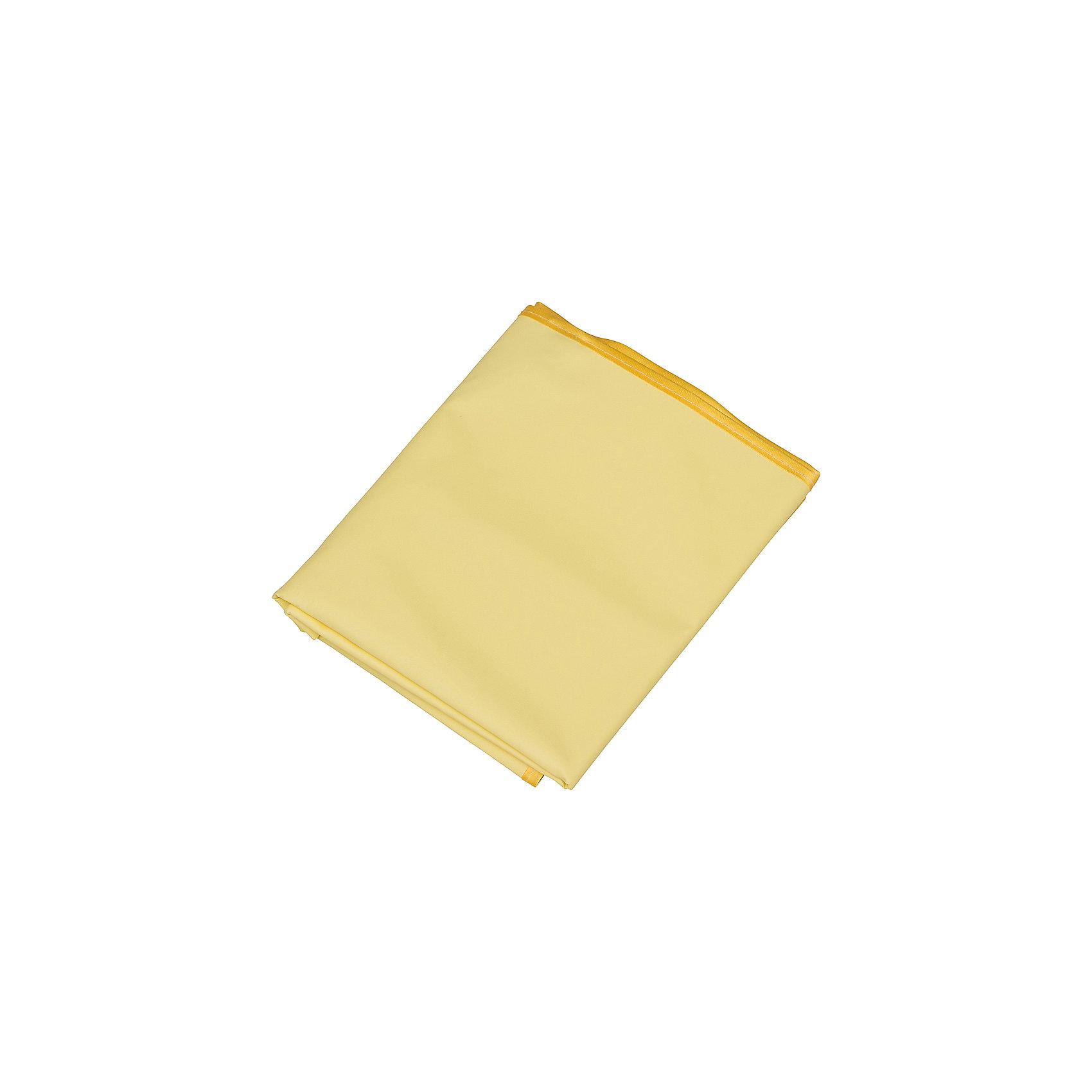 Клеенка подкладная с ПВХ покрытием, Roxy-Kids, желтыйПеленание<br>Клеенка подкладная с ПВХ покрытием, Roxy-Kids, желтый идеально подходит к размерам детских матрасиков в кроватках и колясках и рекомендована к применению в быту при уходе за малышами!<br><br>Характеристики:<br>-Соответствует всем медицинским требованиям <br>-Изготовлена из полиэфирной ткани: влагонепроницаемая, газопроницаемая и паропроницаемая, что способствует профилактики детских опрелостей <br>-ПВХ покрытие на лицевой стороне обладает отличной теплопроводностью, быстро приобретает температуру тела без «эффекта холодного прикосновения»<br>-Идеально подходит к размерам детских матрасиков в кроватках и колясках<br><br>Дополнительная информация:<br>-Размер: 100х70 см<br>-Размеры в упаковке: 21х17 см<br>-Вес в упаковке: 50 г<br>-Цвет: желтый<br>-Материалы: ПВХ, текстиль<br><br>Безопасная и практичная клеенка с ПВХ покрытием идеальна для защиты детской кожи и постельного белья и матраса, и с ней сон малыша будет сладким и крепким!<br><br>Клеенка подкладная с ПВХ покрытием, Roxy-Kids, желтый можно купить в нашем магазине.<br><br>Ширина мм: 210<br>Глубина мм: 170<br>Высота мм: 0<br>Вес г: 50<br>Возраст от месяцев: 0<br>Возраст до месяцев: 12<br>Пол: Унисекс<br>Возраст: Детский<br>SKU: 4231882