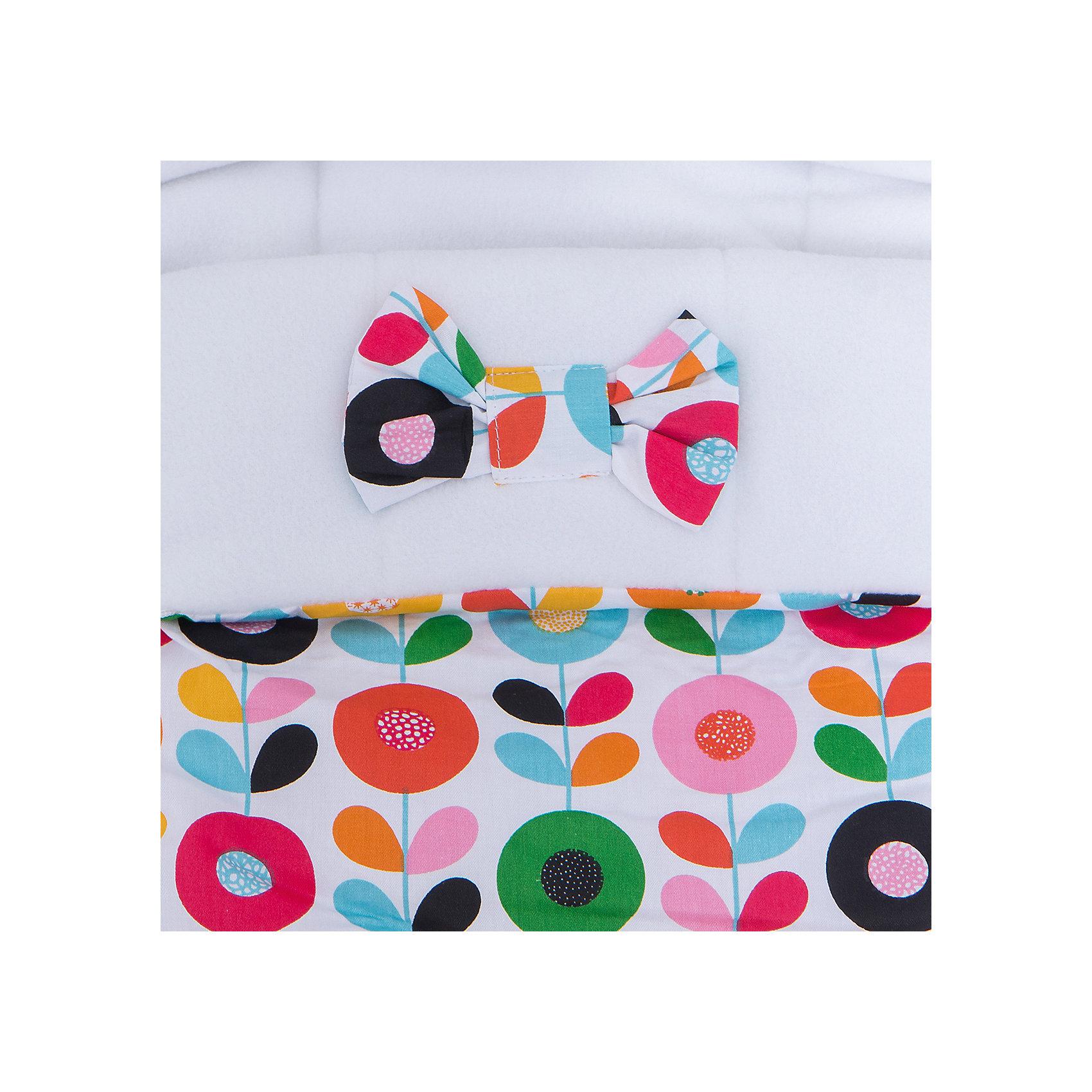 Демисезонный конверт в коляску JustCute Цветик-семицветик, СуперМаМкет