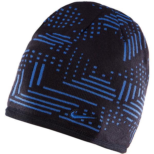 Шапка KNIT REVERSIBLE BEANIE YTH NIKEГоловные уборы<br>Шапка от известного бренда Nike займет достойное место в гардеробе ребенка. Модель черного цвета декорирована контрастным принтом. Шапка идеально облегает голосу, прекрасно защищая от холодного воздуха, декорирована фирменным логотипом. Аксессуар выполнен из высококачественных материалов, хорошо сочетается с разными предметами гардероба. <br><br>Дополнительная информация:<br><br>- Цвет: черный, голубой.<br>- Сезон: демисезонная.<br>- Температурный режим: от + 5? до 0? <br>Параметры:<br>- Глубина: 24 см.<br><br>Состав:<br>акрил 100%<br><br>Шапку KNIT REVERSIBLE BEANIE YTH, NIKE (Найк), можно купить в нашем магазине.<br><br>Ширина мм: 89<br>Глубина мм: 117<br>Высота мм: 44<br>Вес г: 155<br>Цвет: черный<br>Возраст от месяцев: 84<br>Возраст до месяцев: 144<br>Пол: Унисекс<br>Возраст: Детский<br>Размер: one size<br>SKU: 4233485