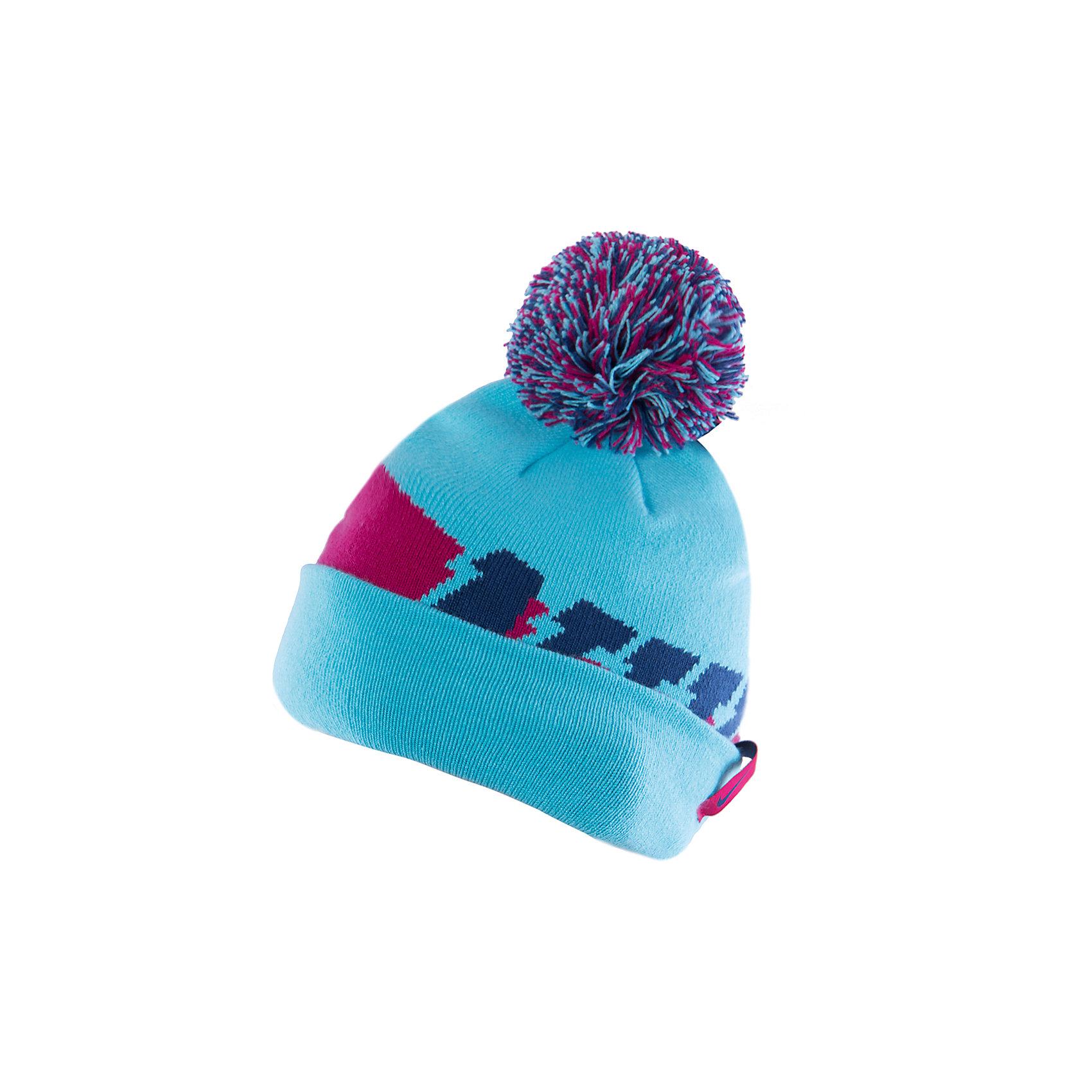 Шапка для мальчика NIKE SEASONAL POM BEANIE YTH NIKEГоловные уборы<br>Двусторонняя шапка  от известного бренда Nike выполнена из акрила, прекрасно сохраняет тепло, очень приятна к телу, не вытягивается. Шапка декорирована контрастным принтом и объемным помпоном. Прекрасный вариант для прохладной погоды! <br><br>Дополнительная информация:<br><br>- Двухсторонняя шапка.<br>- Цвет: синий, голубой, фуксия. <br>- Сезон: демисезонная.<br>- Температурный режим: от + 5? до 0? <br>- Декоративные элементы: помпон, логотип. <br>Параметры:<br>- Глубина: 22 см.<br><br>Состав:<br>акрил 96%, нейлон 3%, эластан, 1%<br><br>Шапку для мальчика NIKE SEASONAL POM BEANIE YTH, NIKE (Найк) можно купить в нашем магазине.<br><br>Ширина мм: 89<br>Глубина мм: 117<br>Высота мм: 44<br>Вес г: 155<br>Цвет: голубой<br>Возраст от месяцев: 84<br>Возраст до месяцев: 144<br>Пол: Мужской<br>Возраст: Детский<br>Размер: one size<br>SKU: 4233491